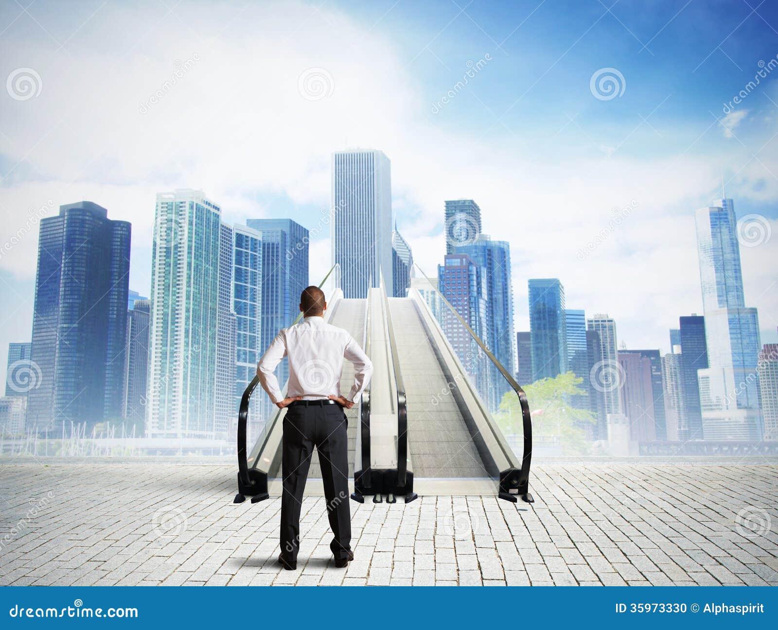 Escaliers au succès