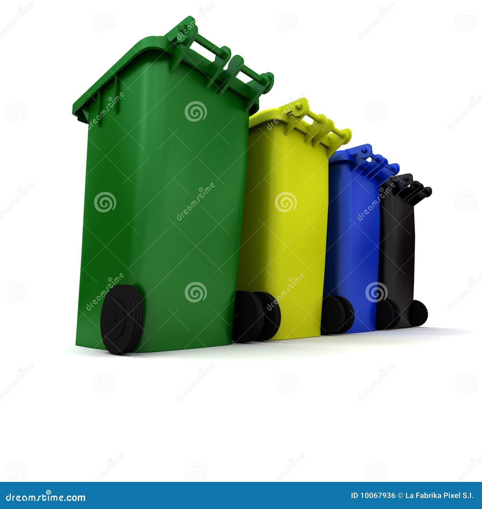Escaninhos de lixo
