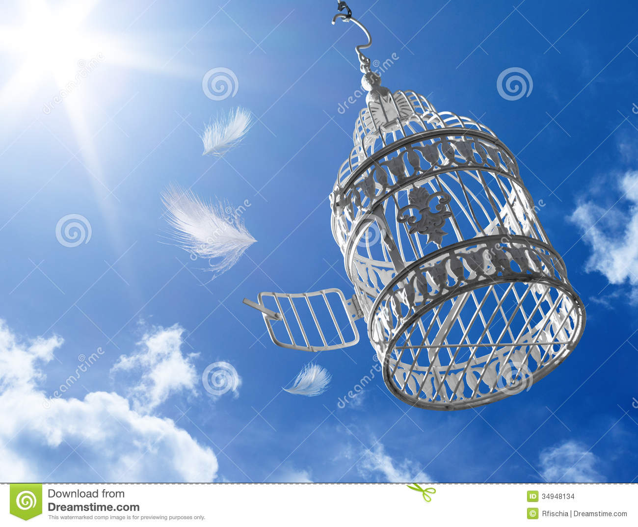 Escape To Freedom - Concept Stock Images - Image: 34948134