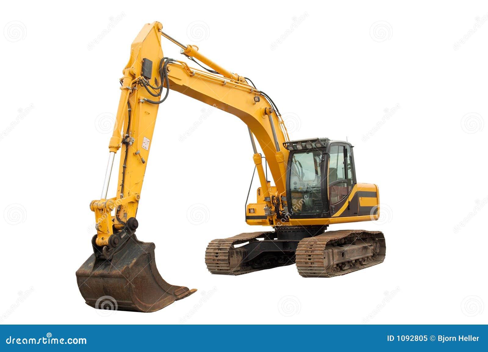 Escavatore di medie dimensioni