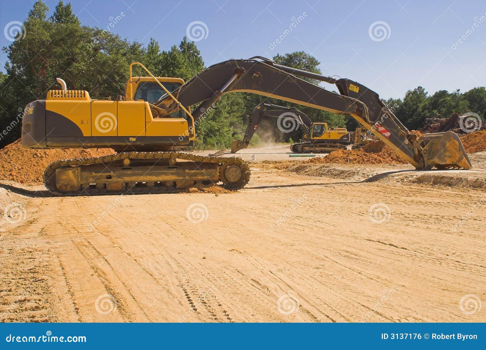 Escavatore industriale