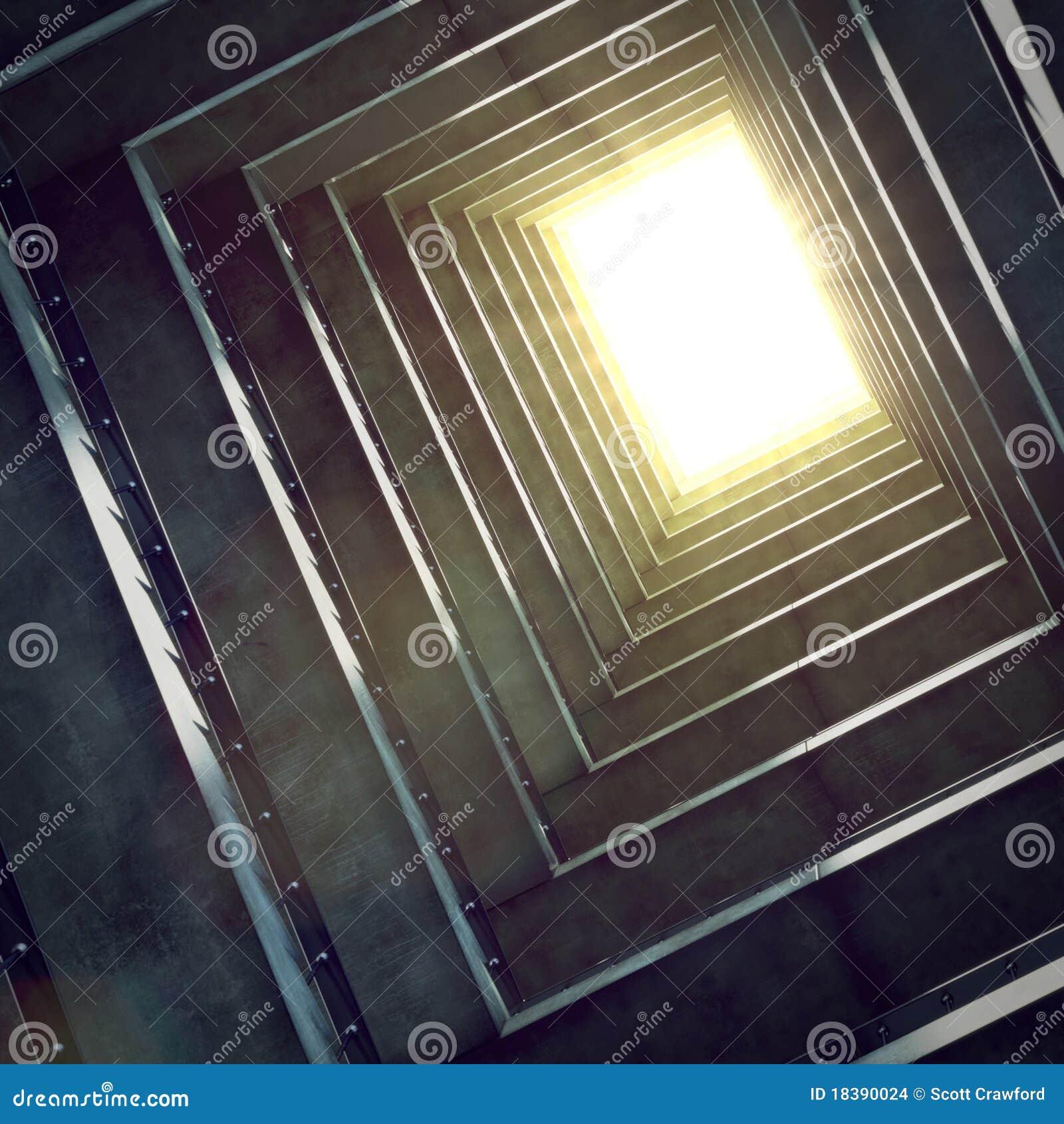 Escave um túnel para iluminar-se