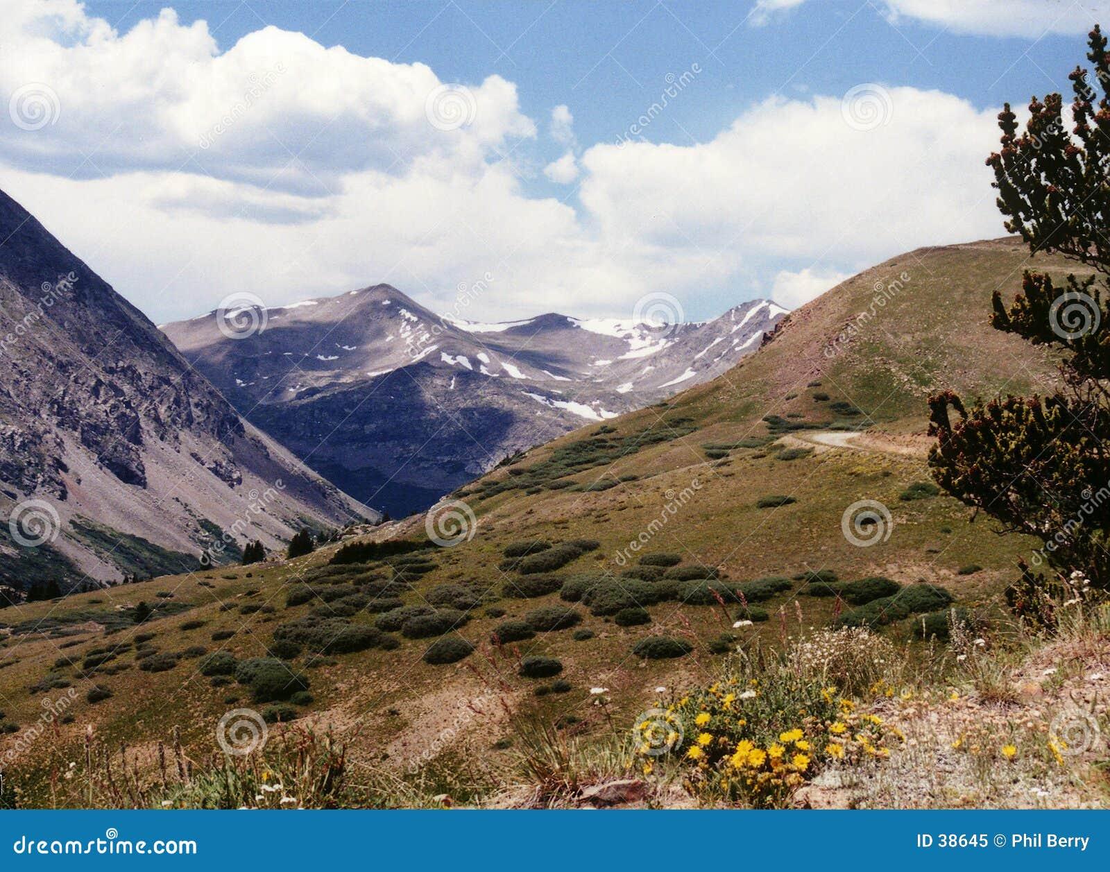 Escena de la montaña