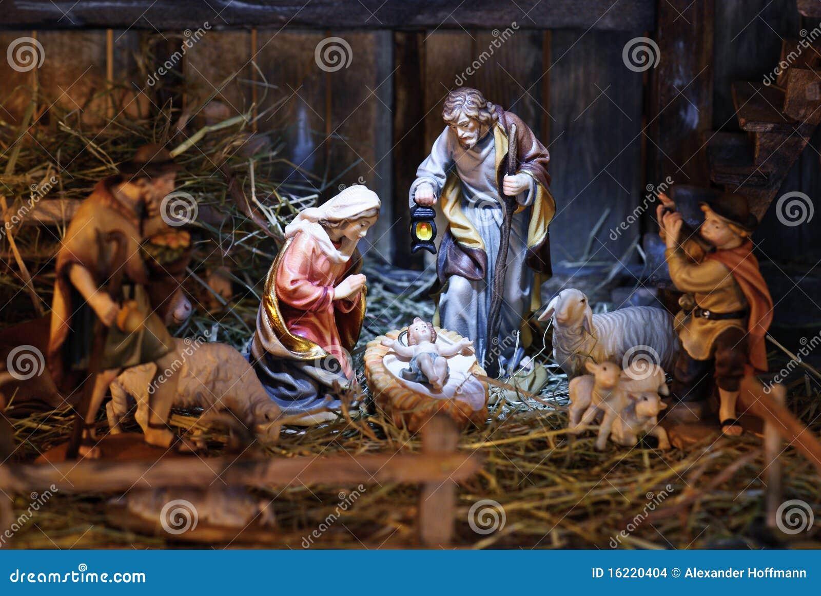 Escena de la natividad
