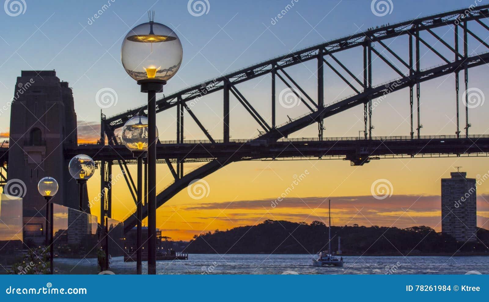 Escena de la noche de Sydney