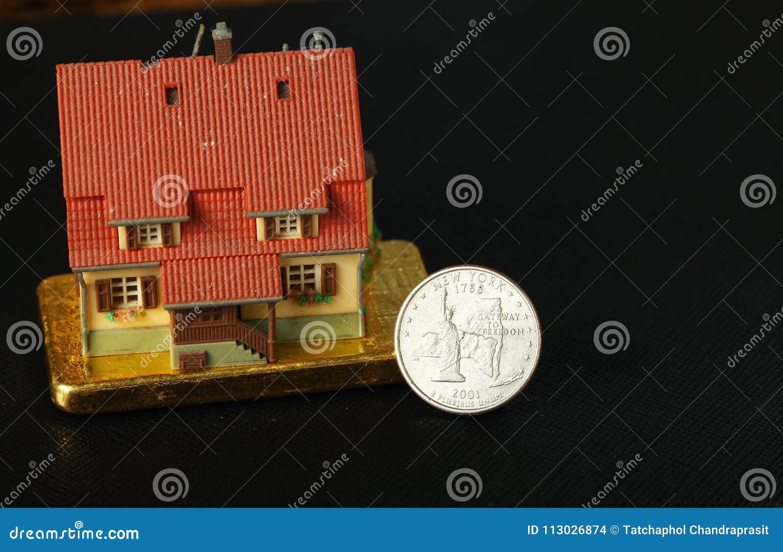 Escena modelo de la casa