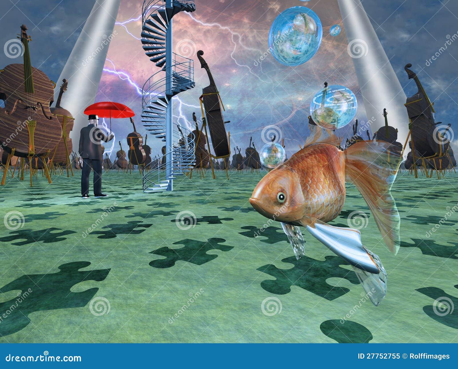 Escena surrealista