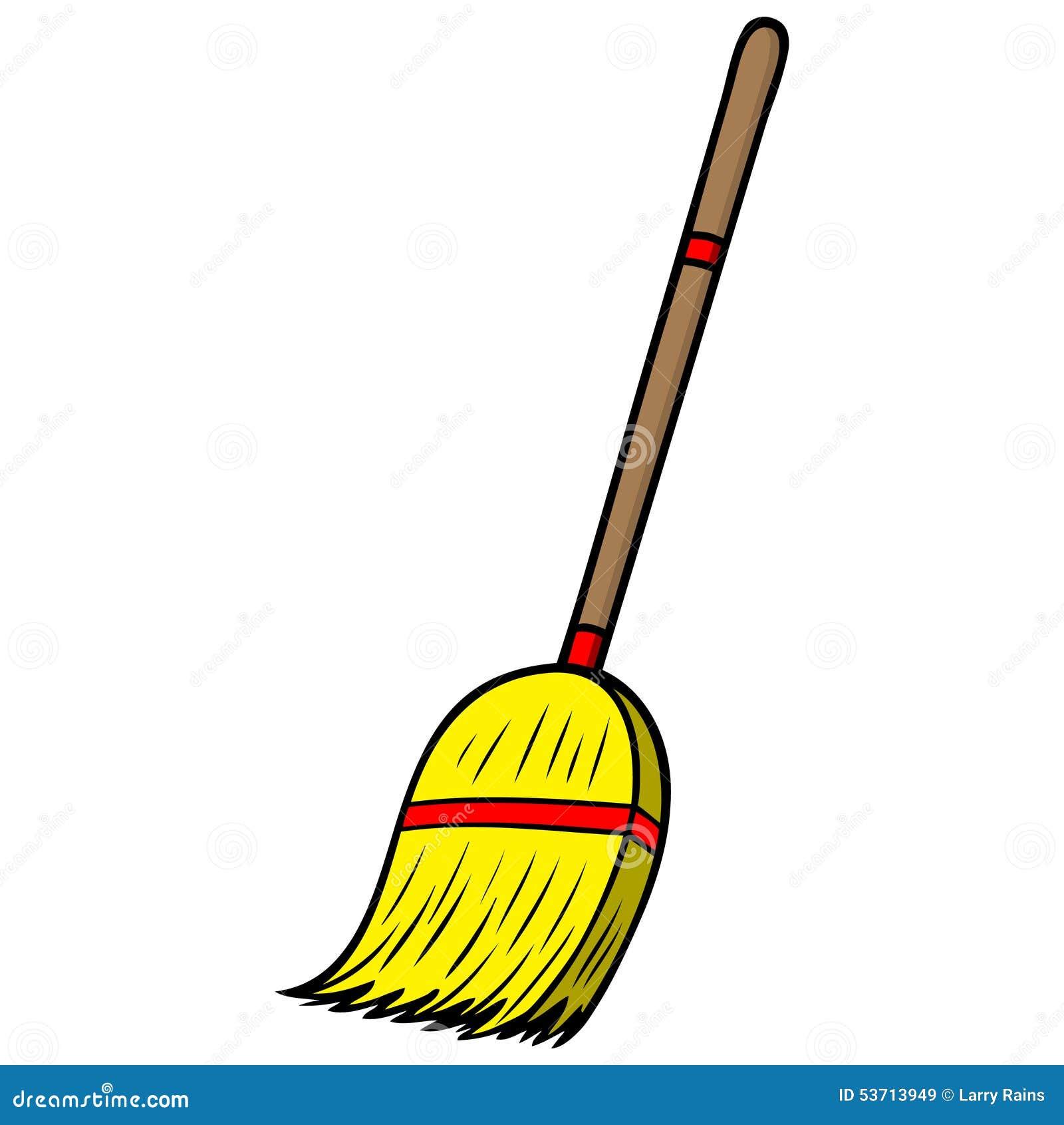 escoba ilustraci u00f3n del vector imagen 53713949 broom clip art cameo bedroom clipart