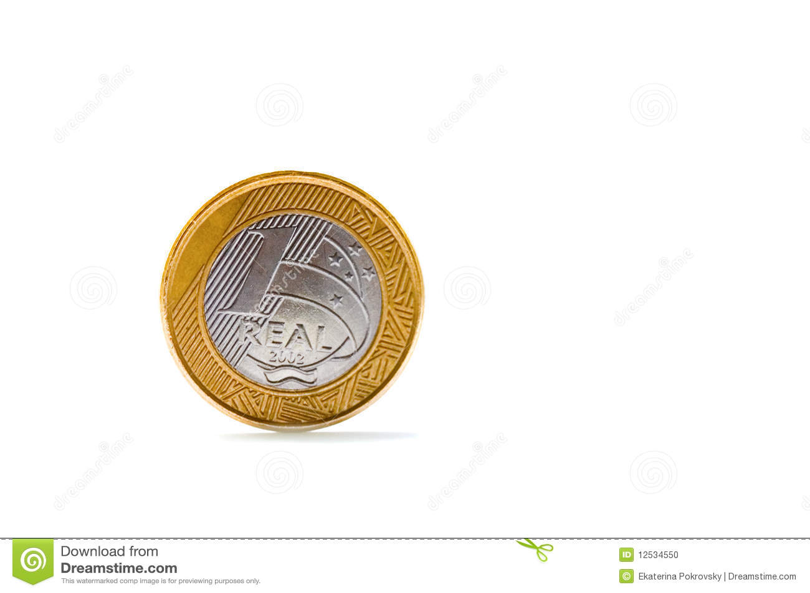 Escolha uma moeda real brasileira