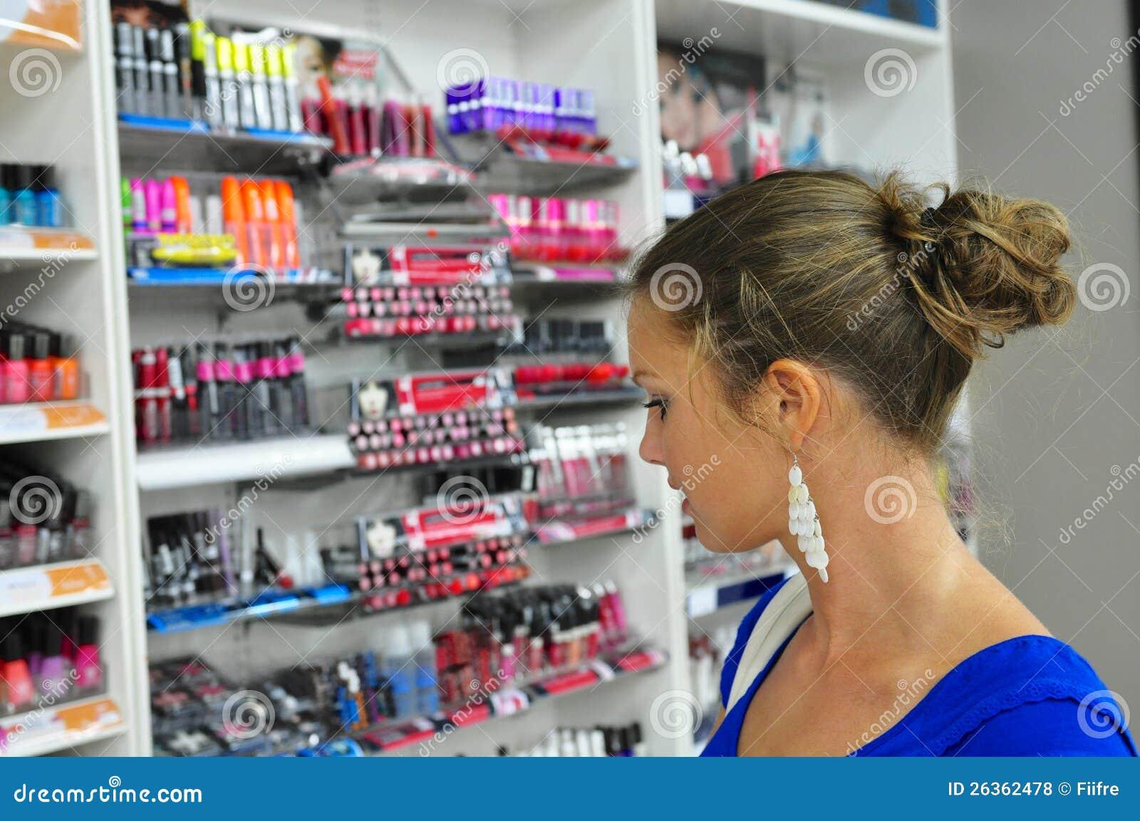 Escolhendo cosméticos