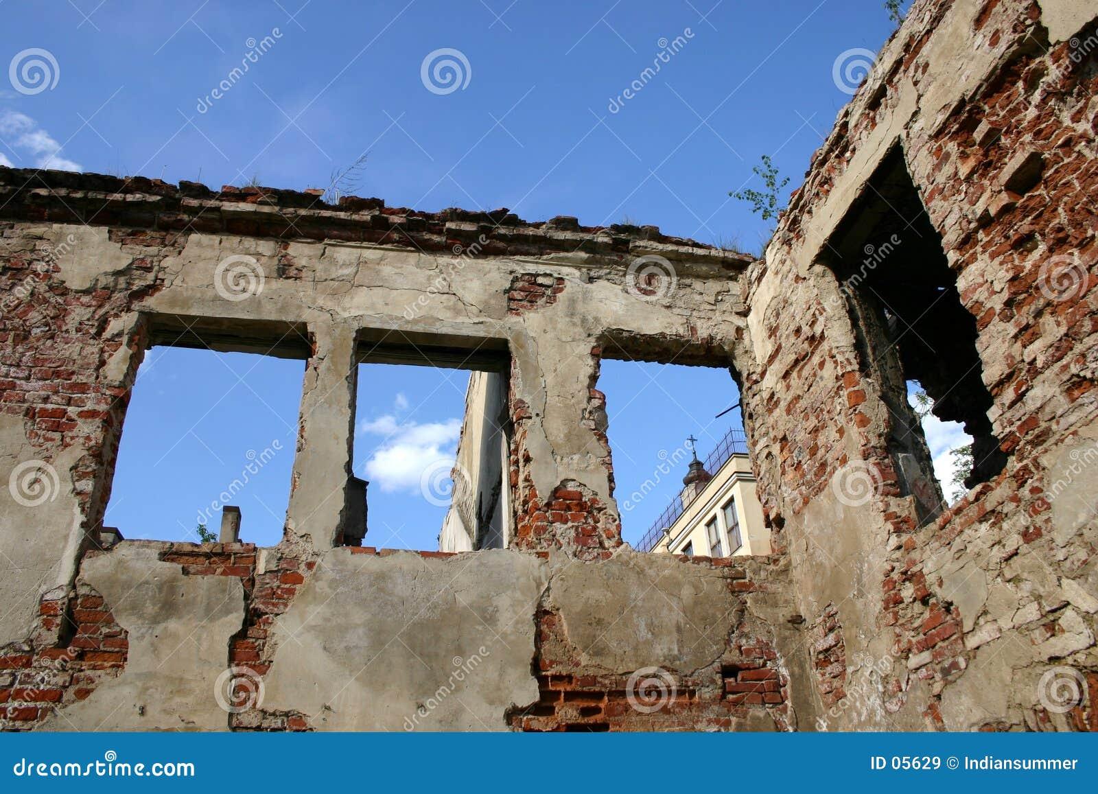 Escombros en oldtown