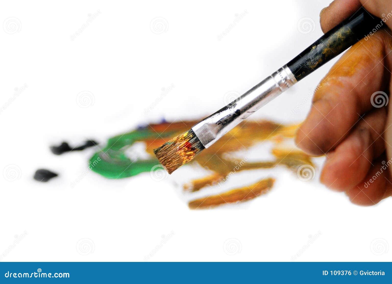 Escova do pintor