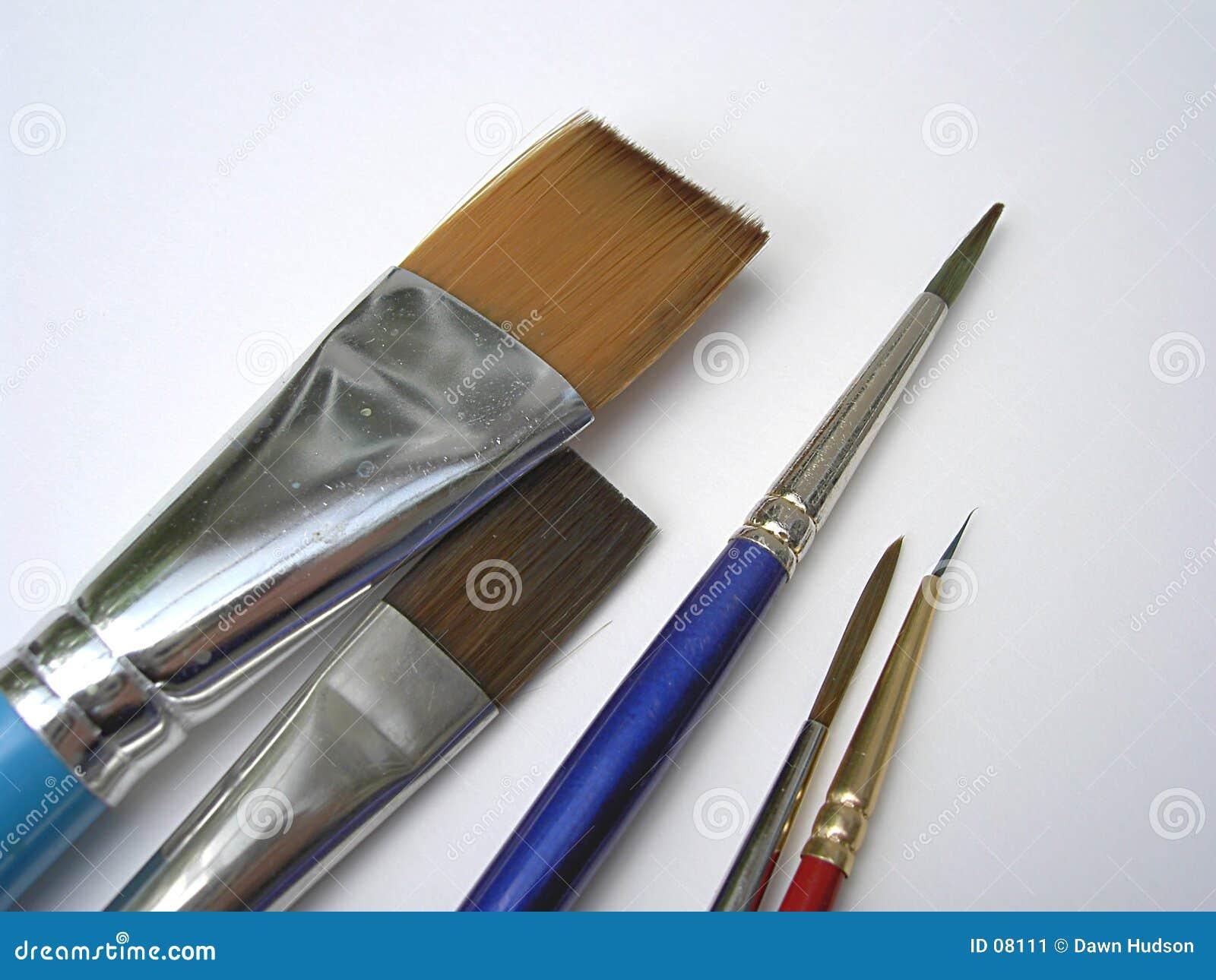 Escovas da bela arte
