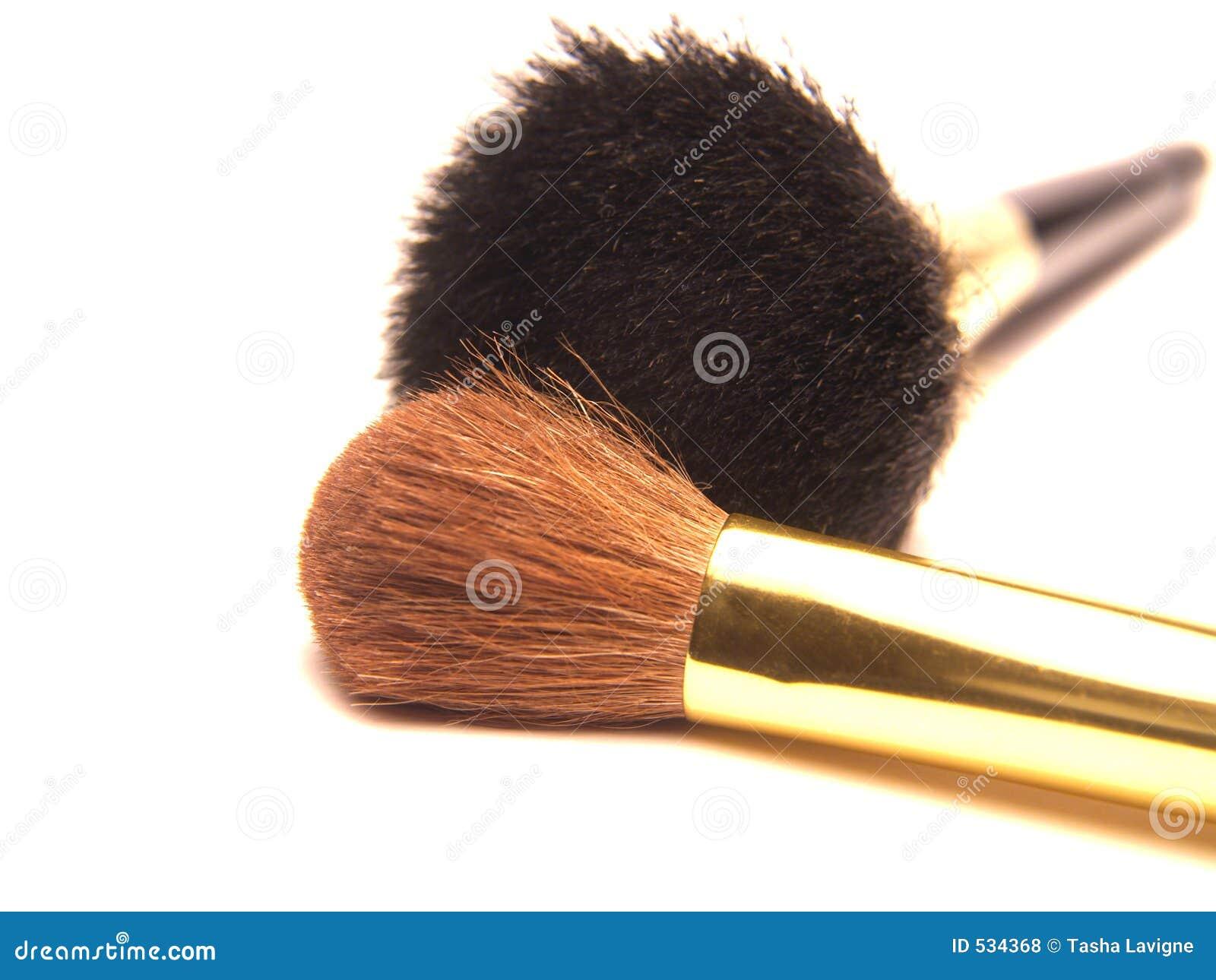 Escovas da composição