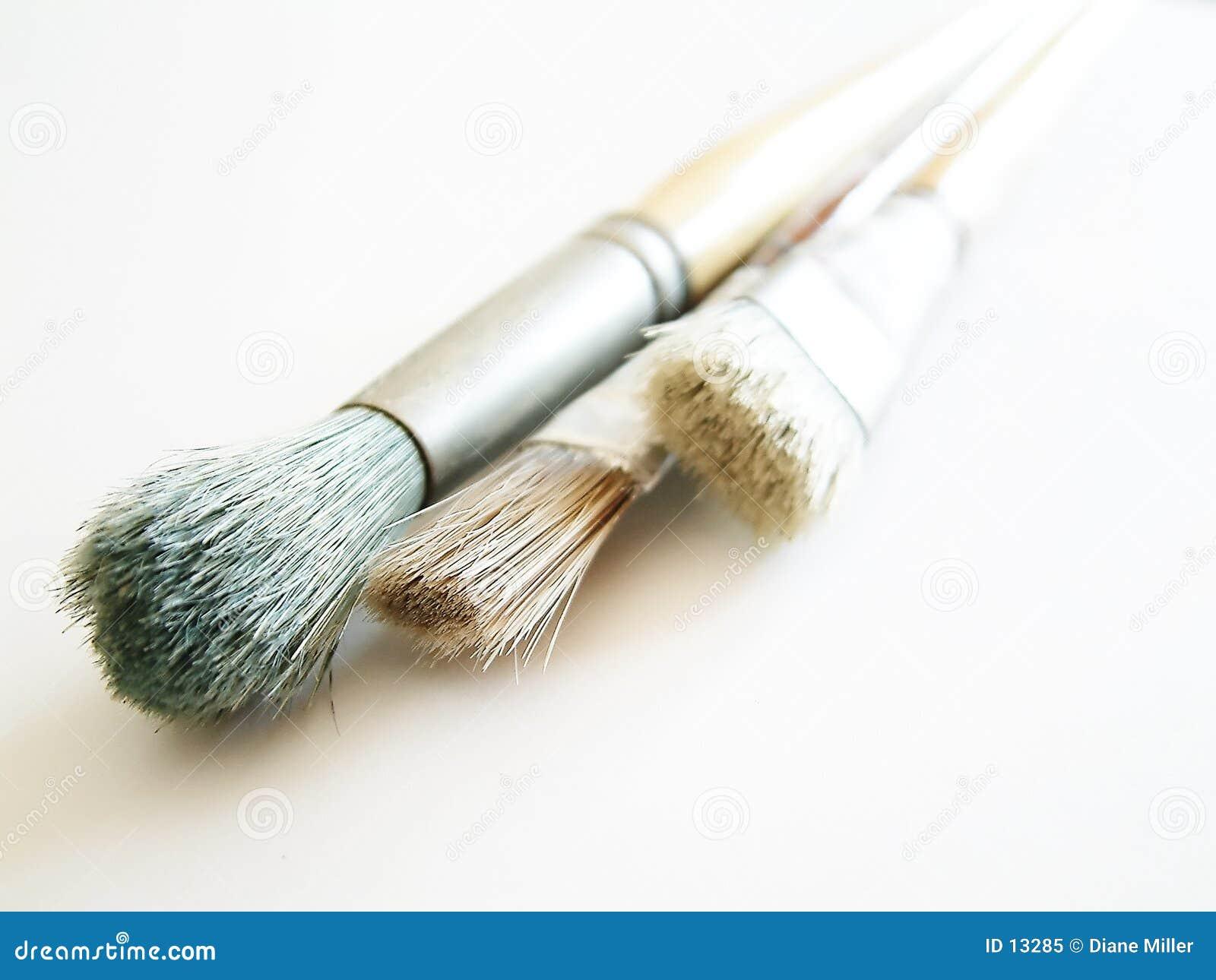 Escovas do artista