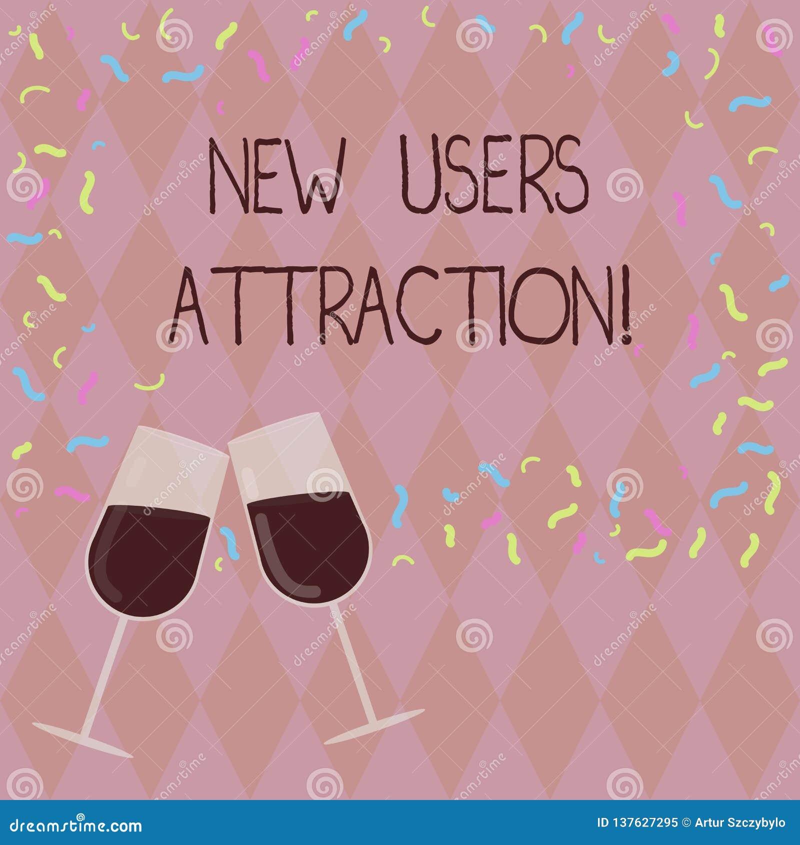Escrevendo a exibição da nota usuários novos atração A foto do negócio que apresenta algo que faz mostrar quer para uma coisa par