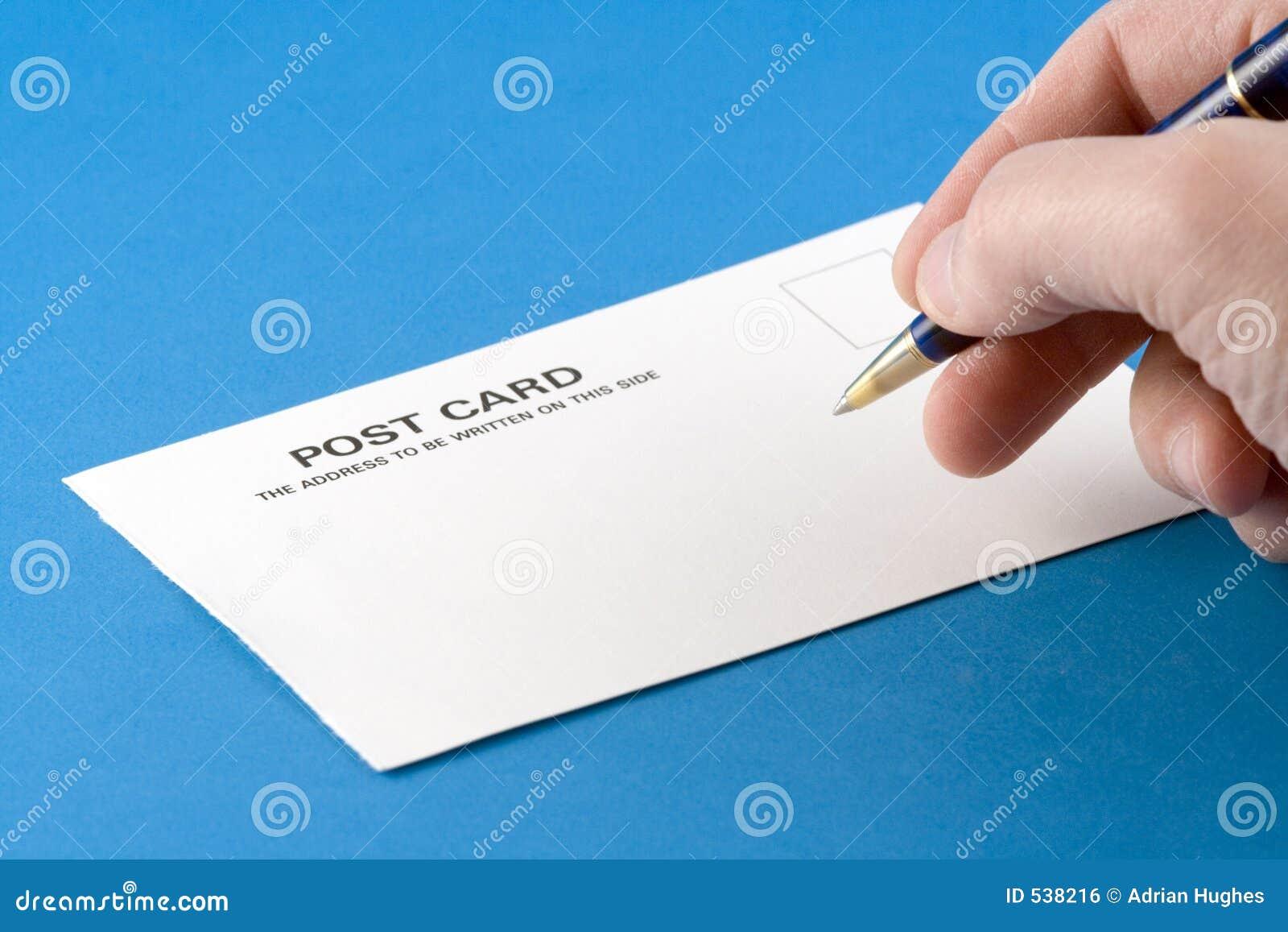 Escrevendo um cartão