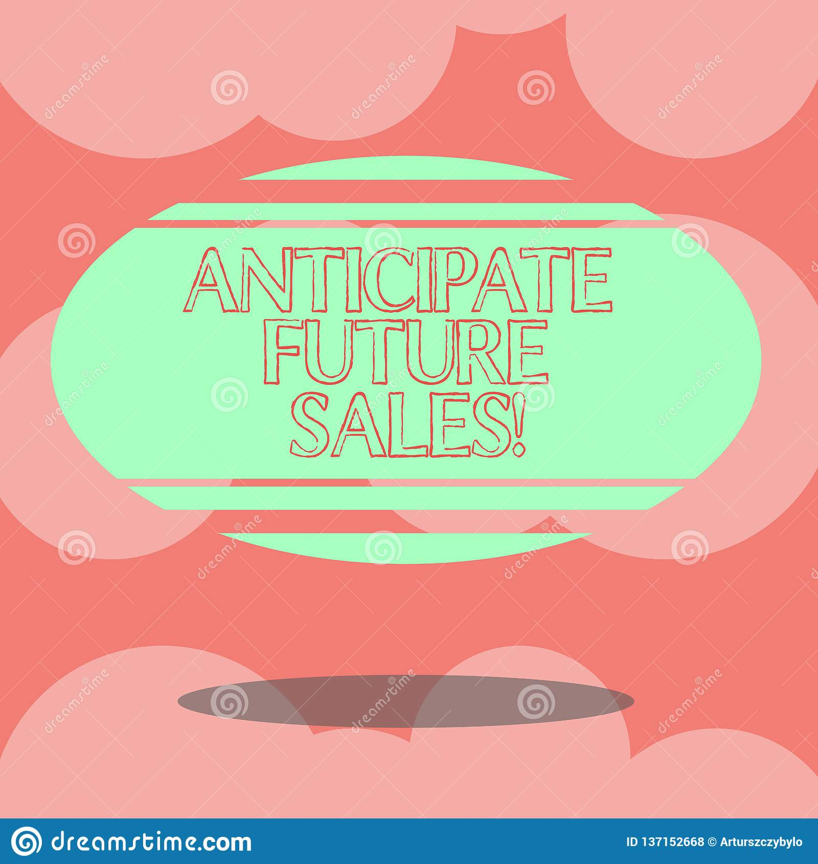 Escribiendo la demostración de la nota anticipe las ventas futuras Foto del negocio que muestra valorando una inversión para la r