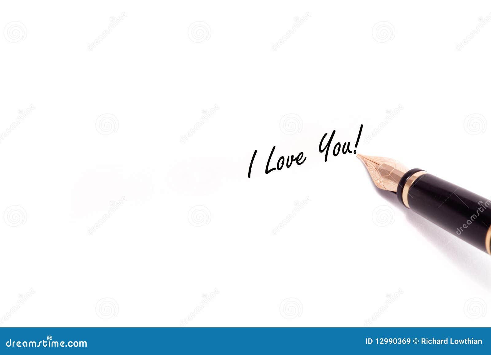 Eu Te Amo Escrito Na Areia Imagens De Stock Royalty Free: Escrita Da Pena De Fonte Imagens De Stock Royalty Free