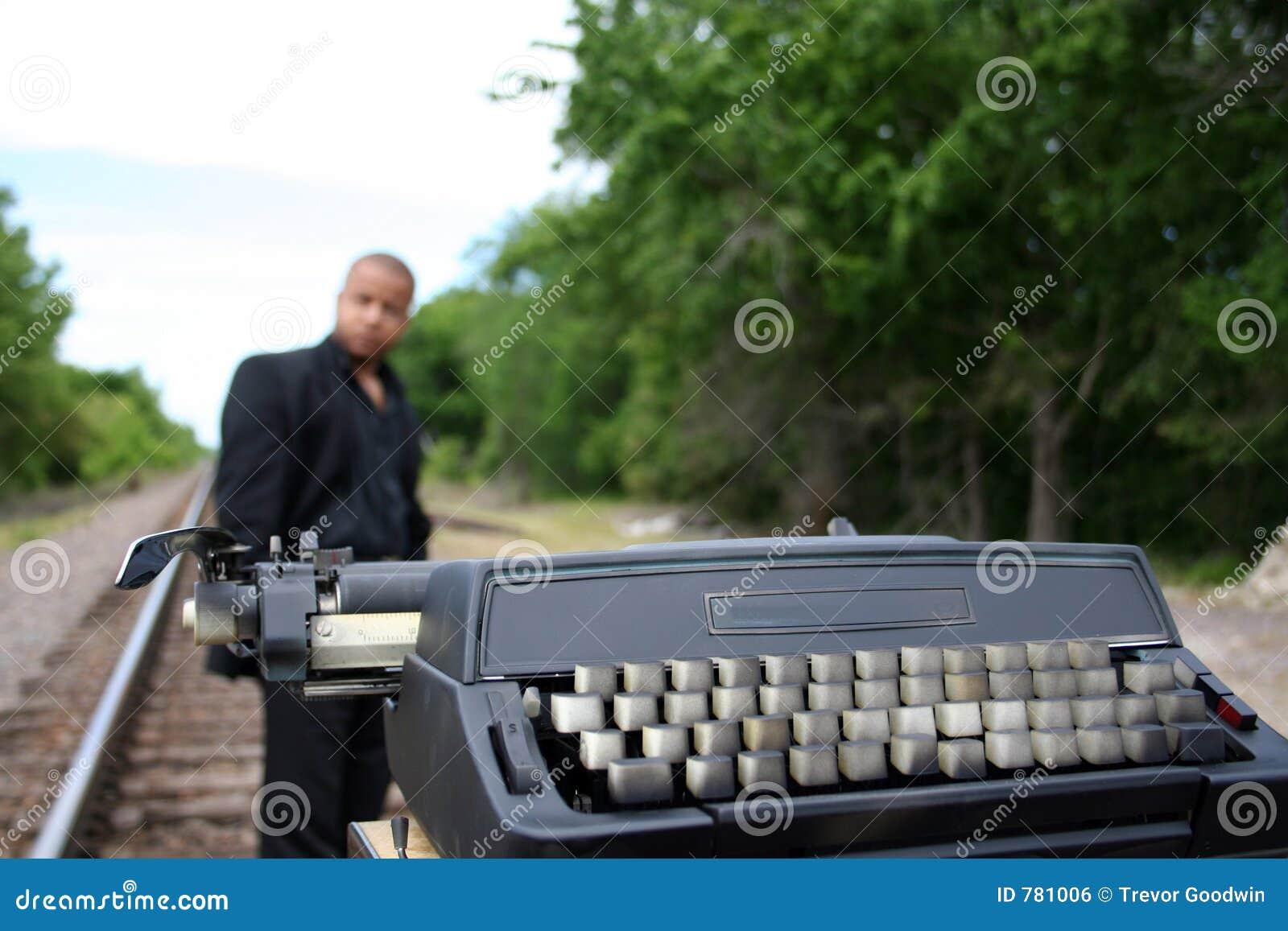 Escritor nas trilhas