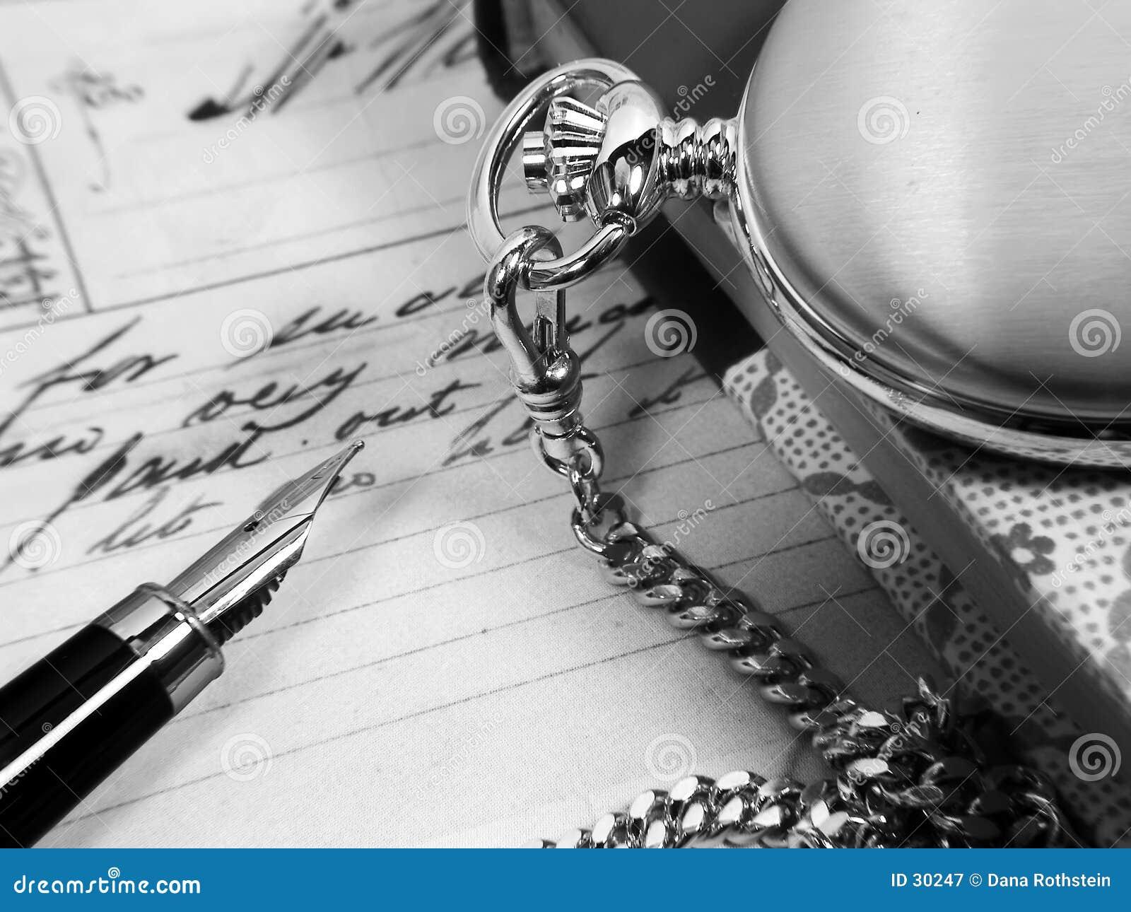 Download Escritorio retro imagen de archivo. Imagen de nota, personal - 30247