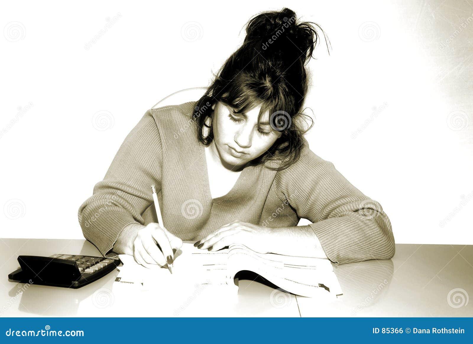Escritura de la mujer