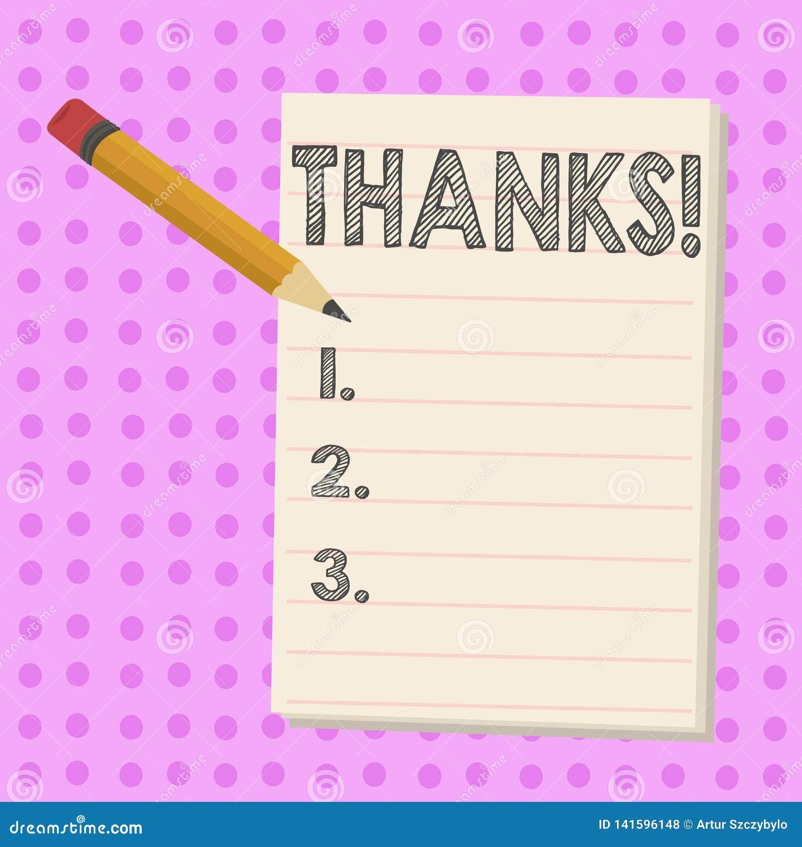 Escritura de la nota que muestra gracias Gratitud de exhibición del reconocimiento del saludo del aprecio de la foto del negocio