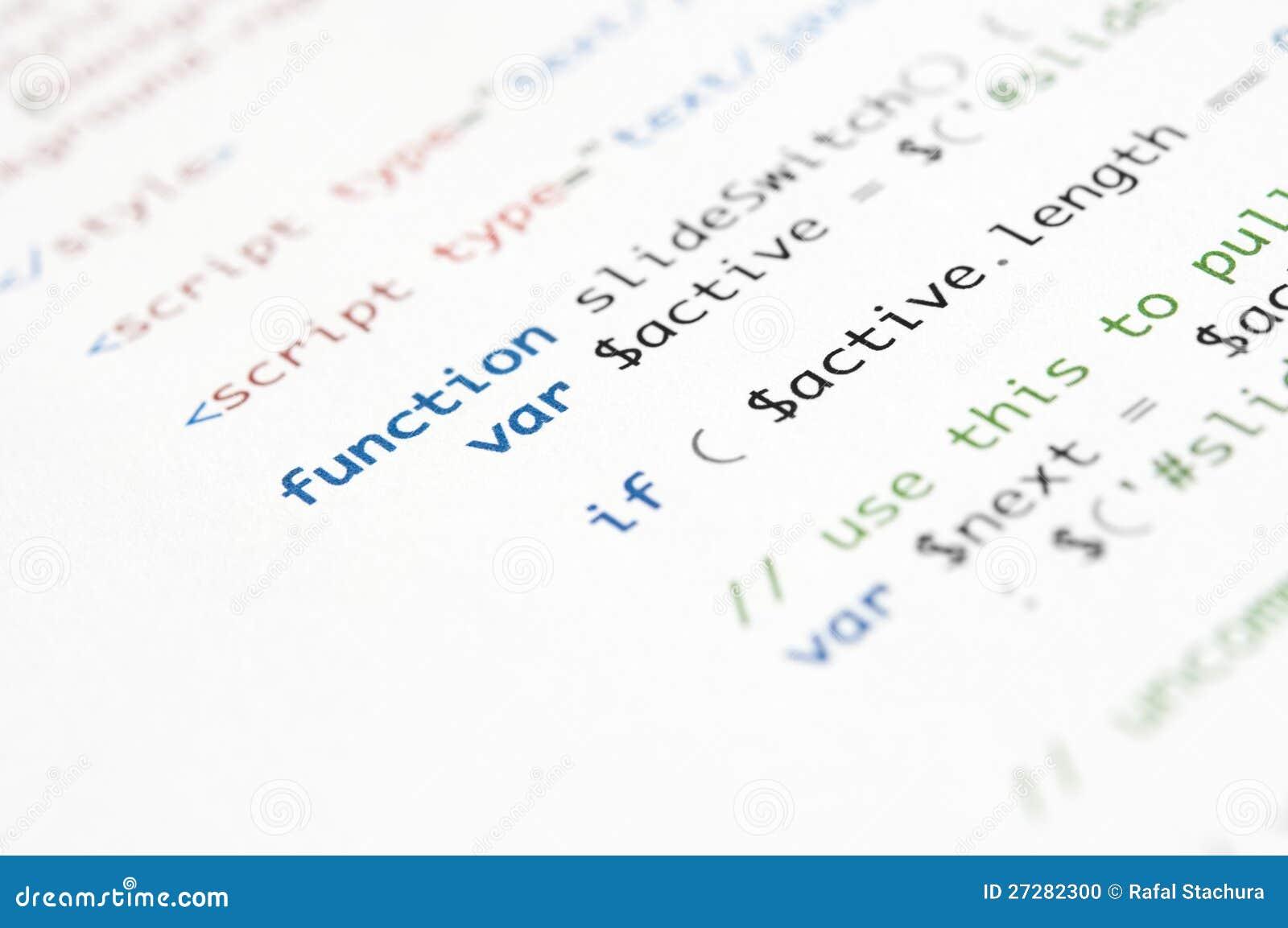 Escritura del HTML