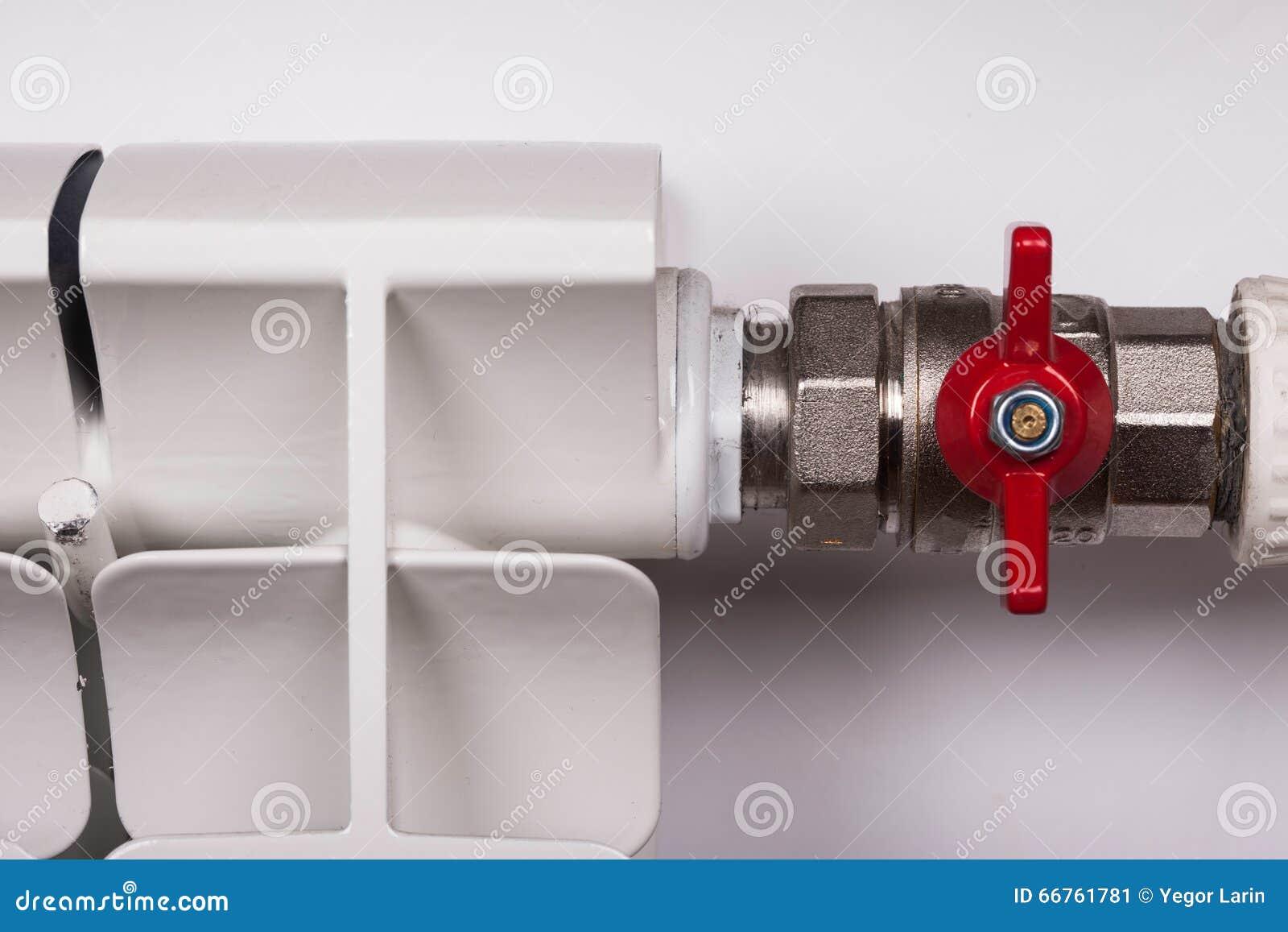Escroquerie blanche de radiateur dans une valve de robinet d 39 appartement - Temperature dans un appartement ...
