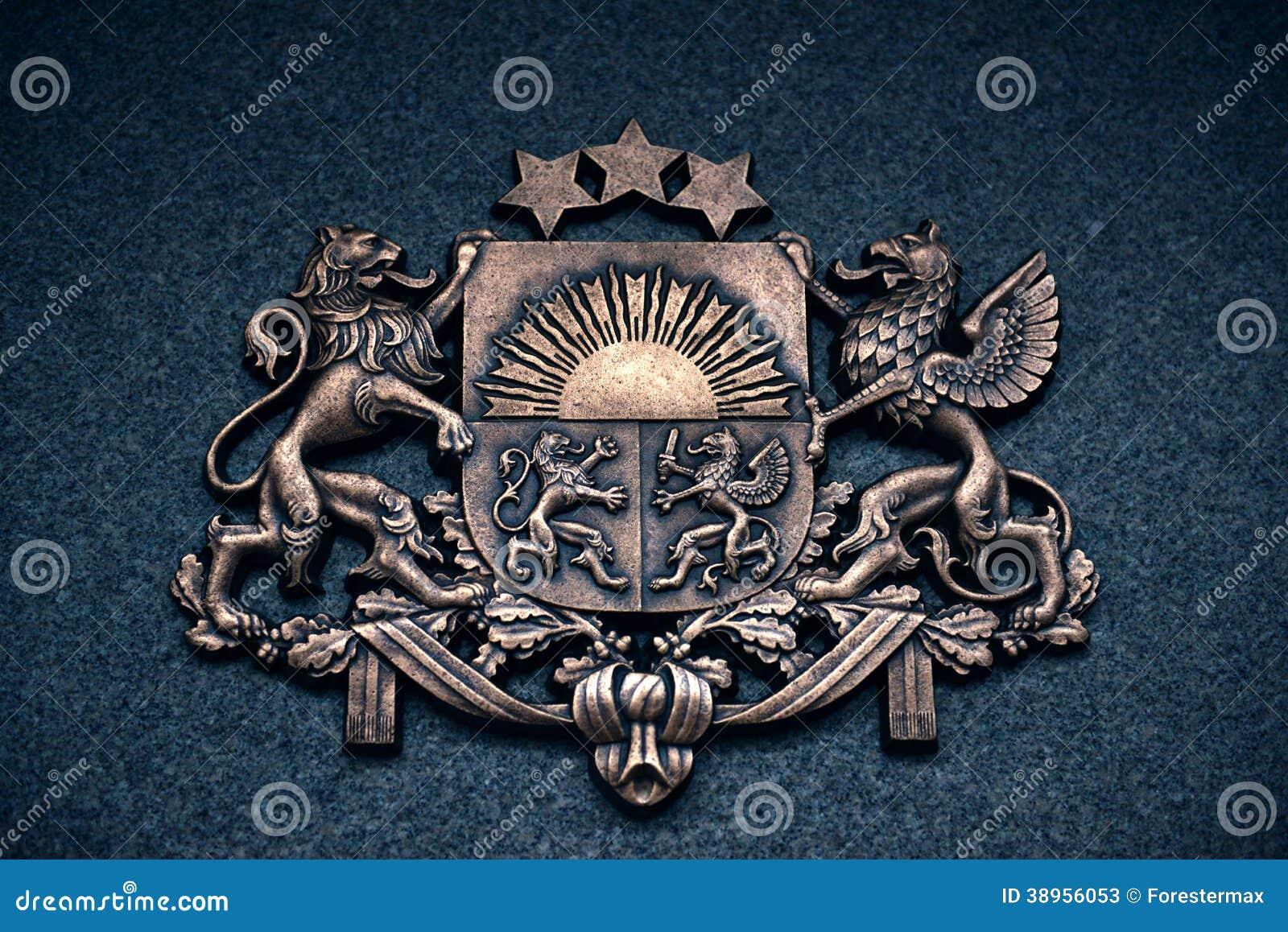 Escudo de armas de Letonia