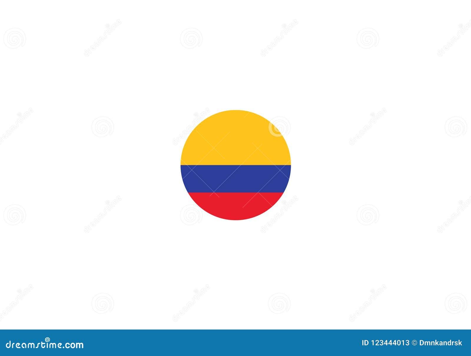 Escudo De Armas Del Simbolo De La Bandera Nacional De Colombia Ilustracion Del Vector Ilustracion De Armas Nacional 123444013