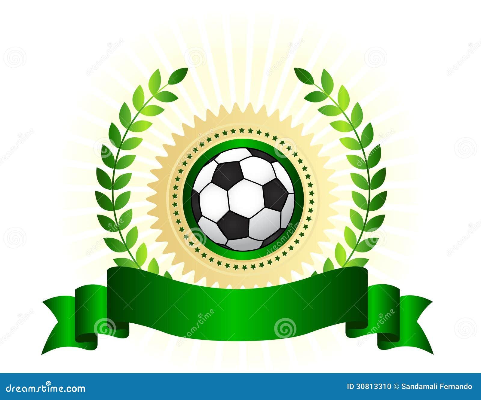 Escudo del logotipo del campeonato del fútbol