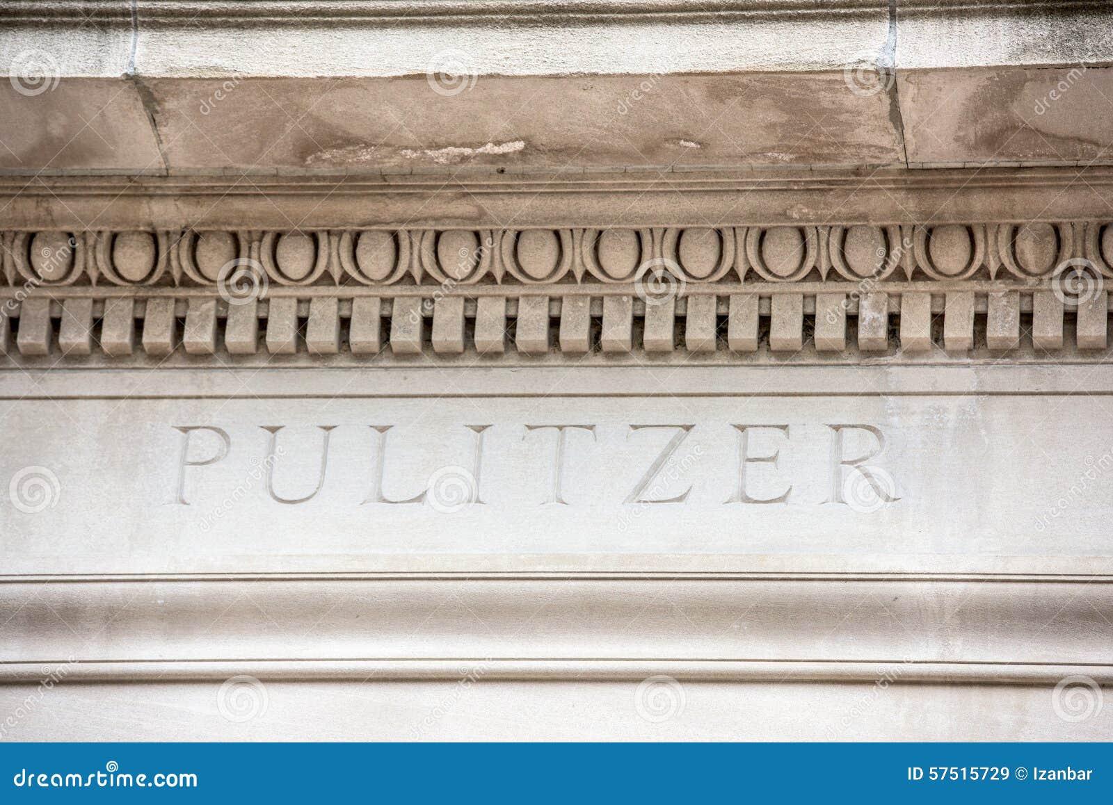 Escuela de Pulitzer de la muestra del periodismo