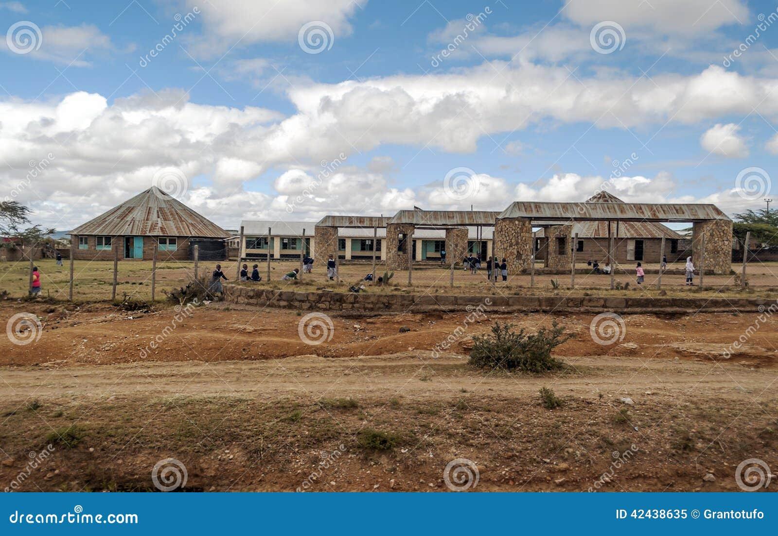 Escuela en Kenia