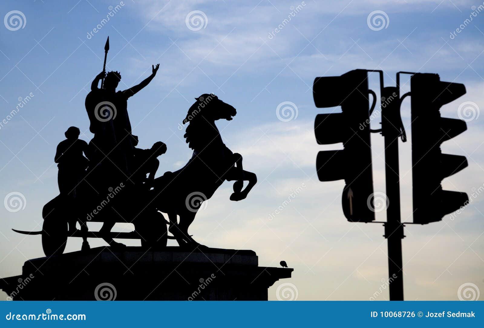 Escultura de Londres - de Boudica