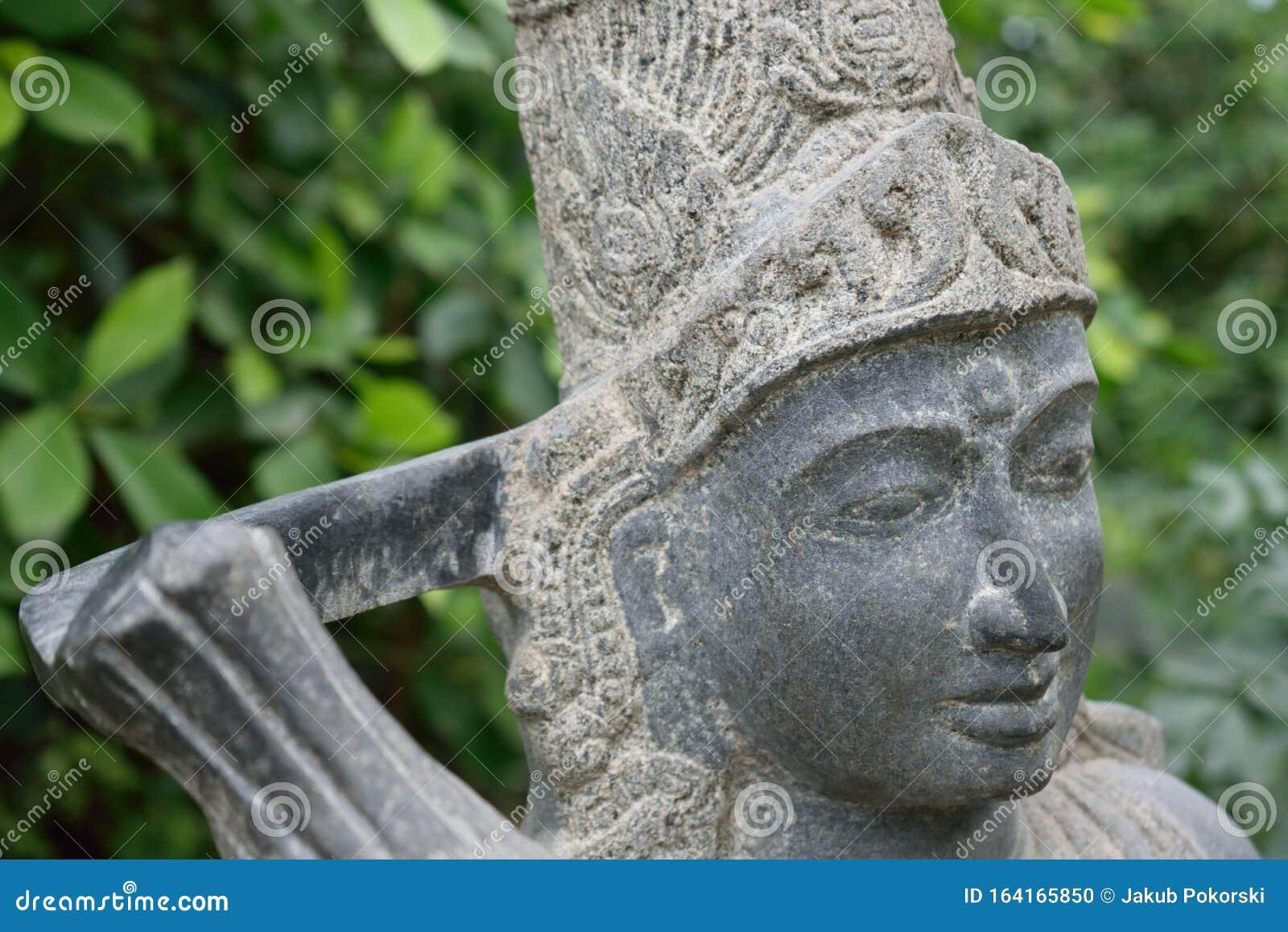 Escultura India De Diosa De La Fertilidad Foto De Archivo Imagen De Escultura Fertilidad 164165850