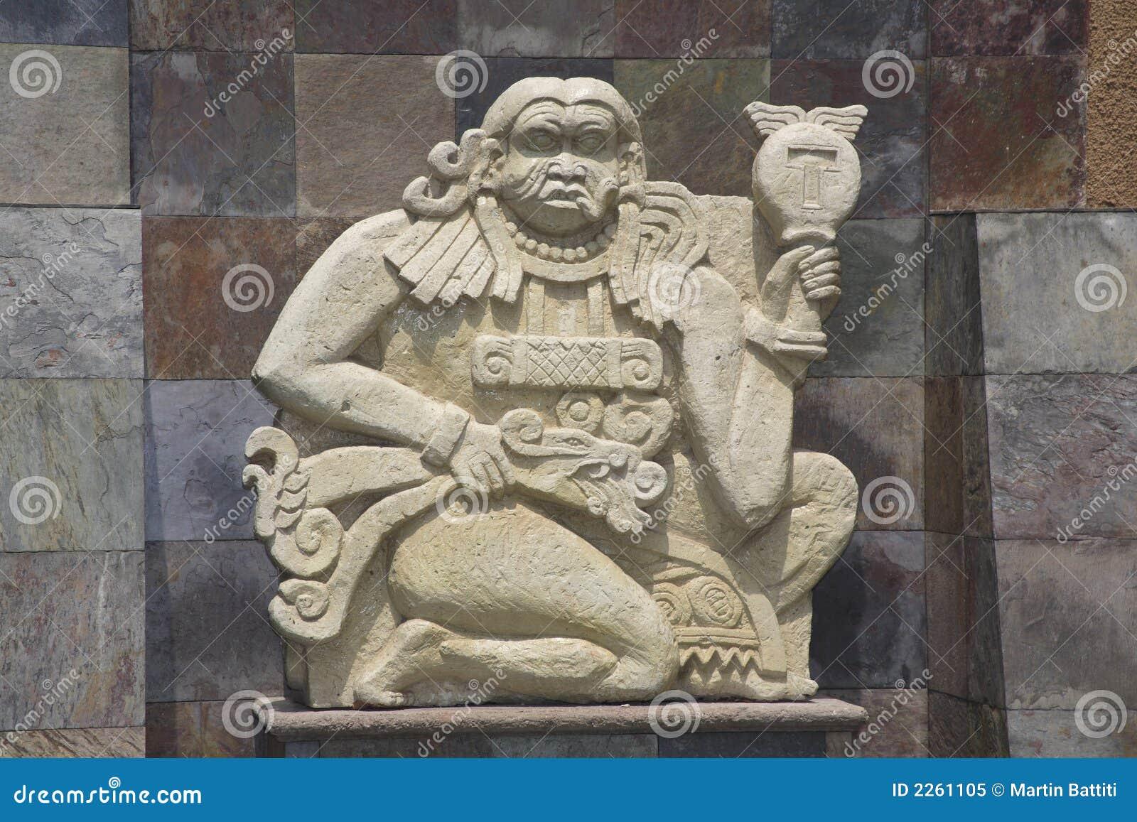 Escultura maia