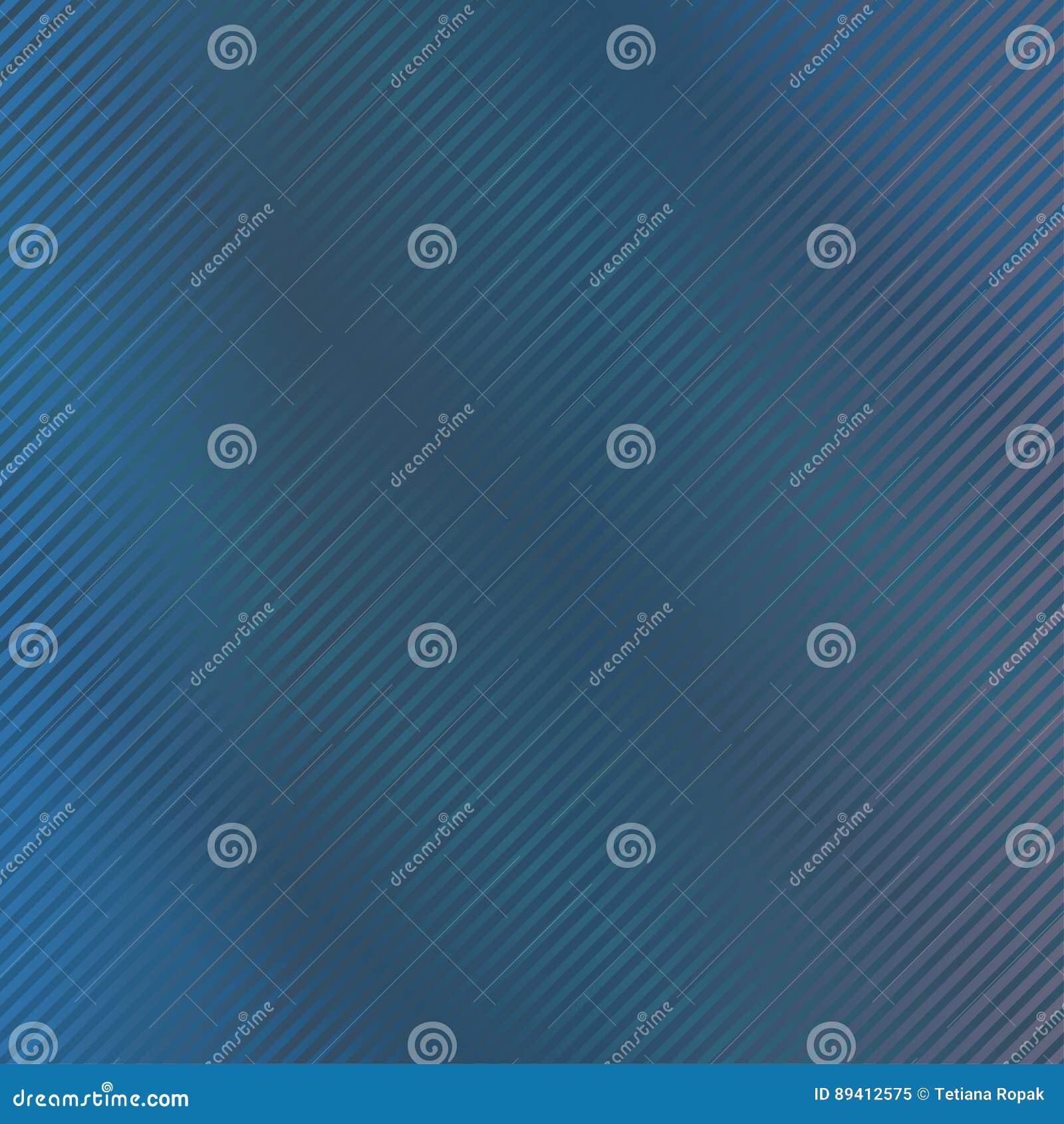 Escuro - fundo azul com listra Ilustração do vetor Teste padrão descascado Textura abstrata à moda moderna Molde para a cópia, te