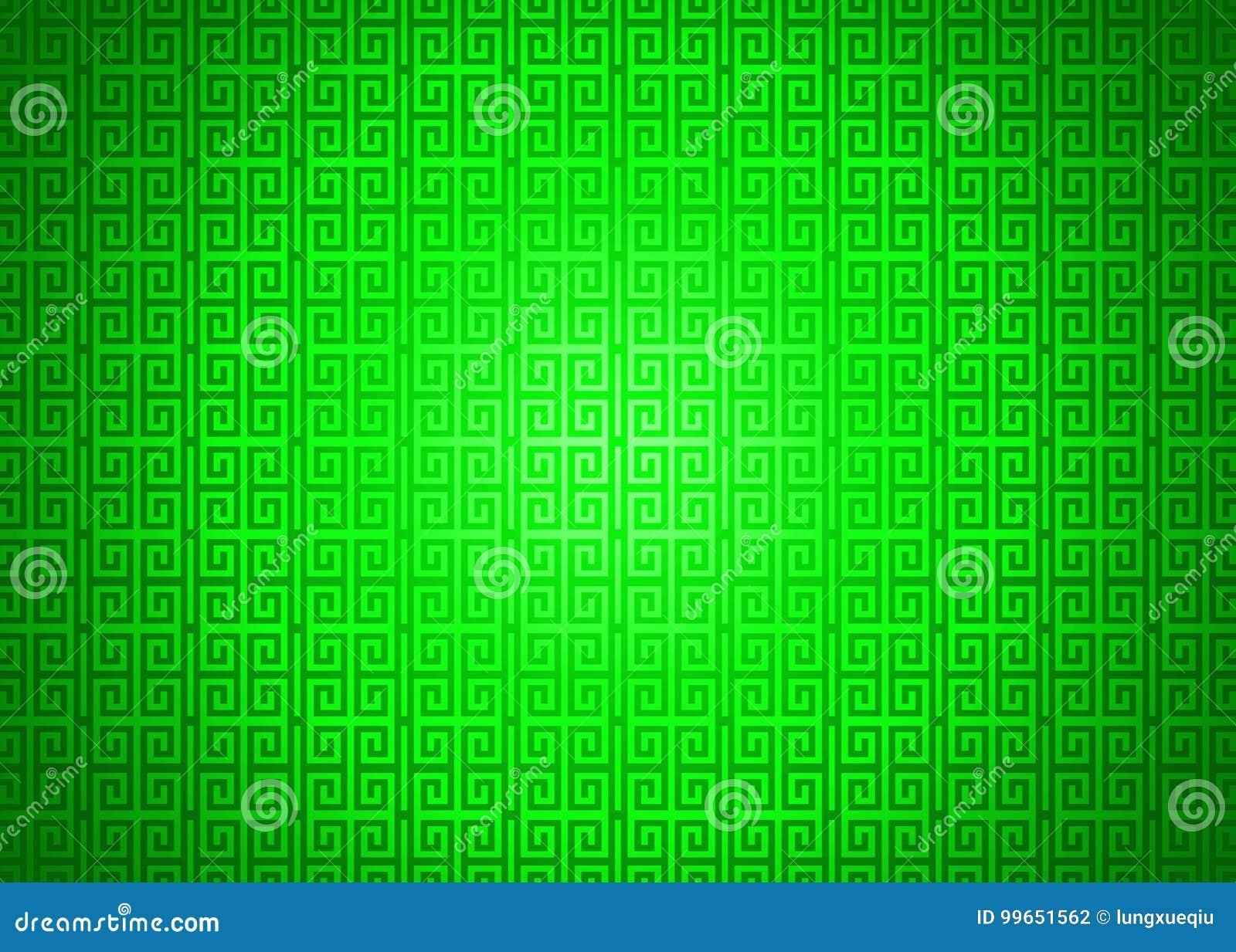 Escuro - fundo islâmico árabe chinês decorativo oriental verde da textura do teste padrão Imlek Ramadan Festival Wallpaper