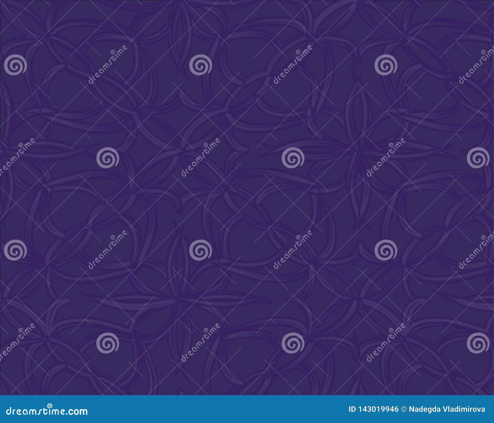 Escuro - teste padr?o azul Molde triangular sem emenda Amostra geom?trica Repetindo a rotina com formas do tri?ngulo