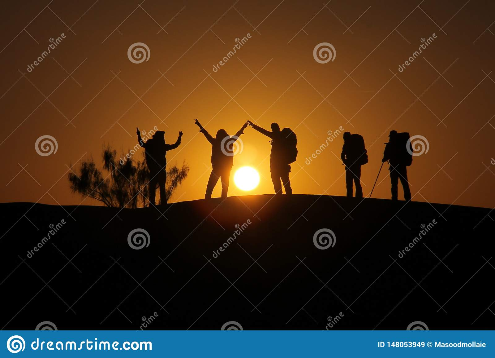 Escursione del deserto dell Iran