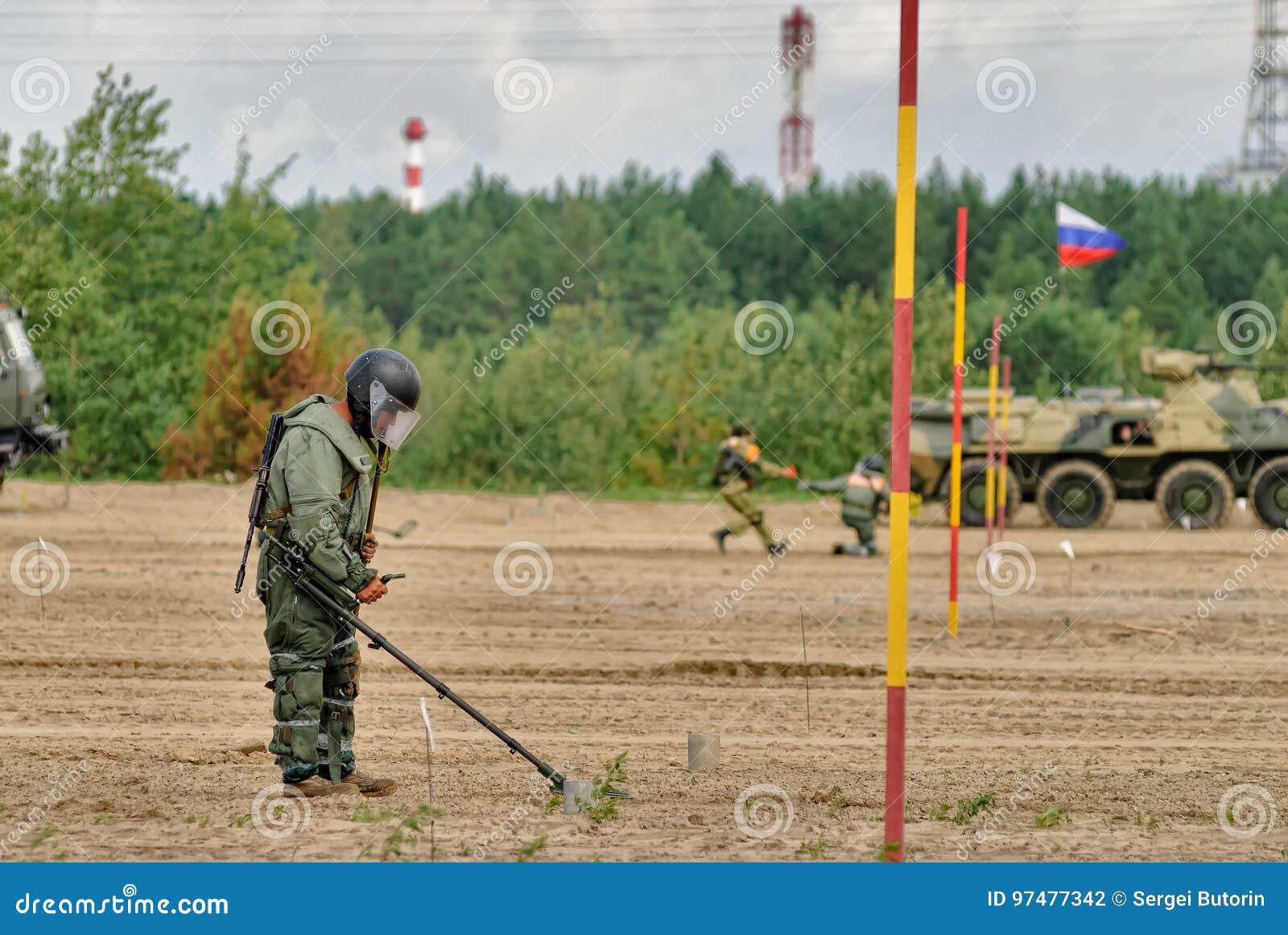 Esercito Games-2017 Concorso Tjumen della via sicura La Russia