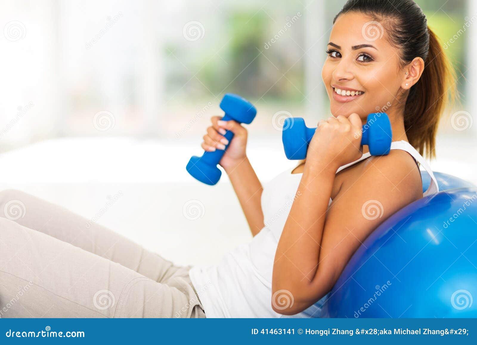 Esercizio di forma fisica della donna