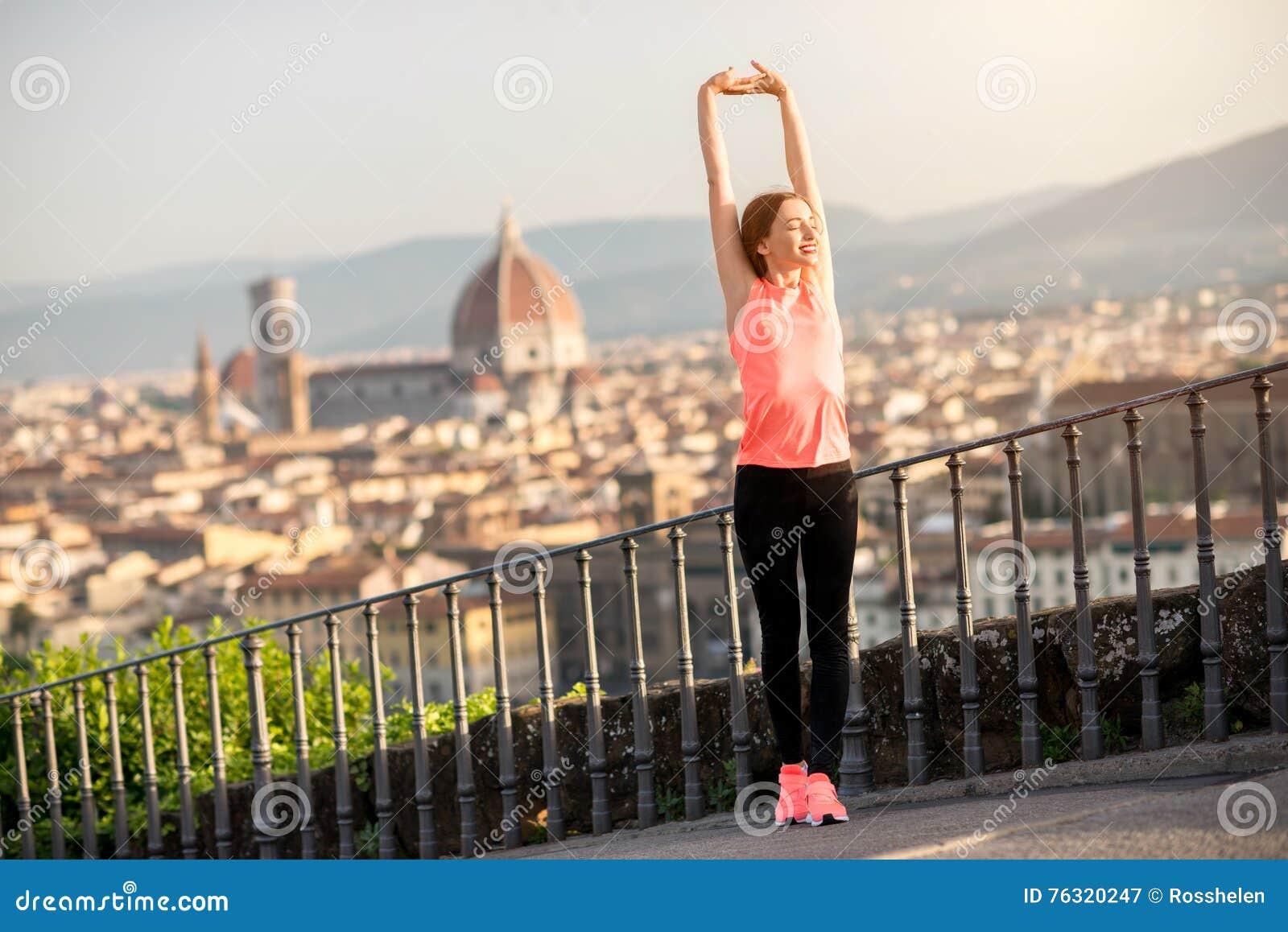 Esercizio di mattina a Firenze