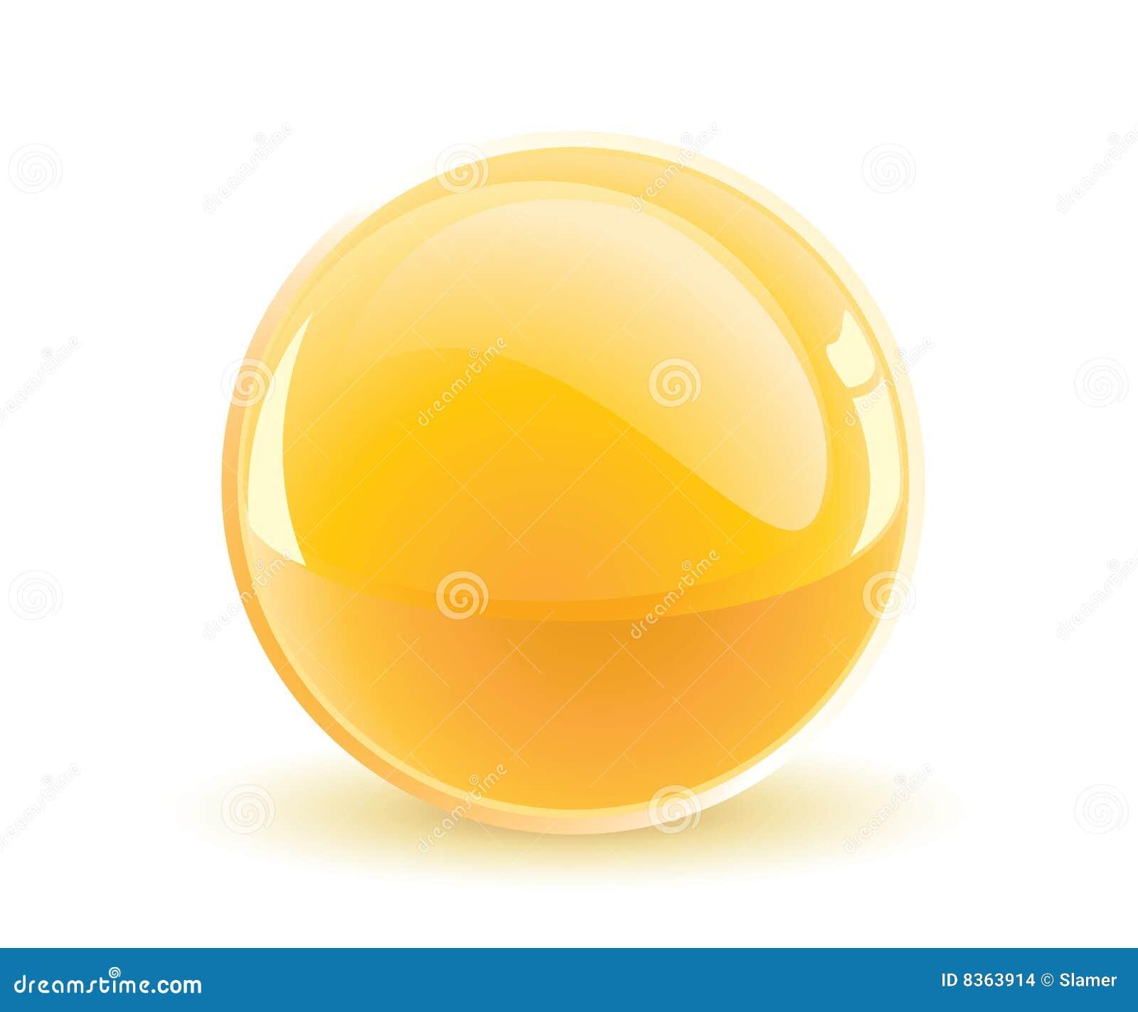 Esfera amarilla
