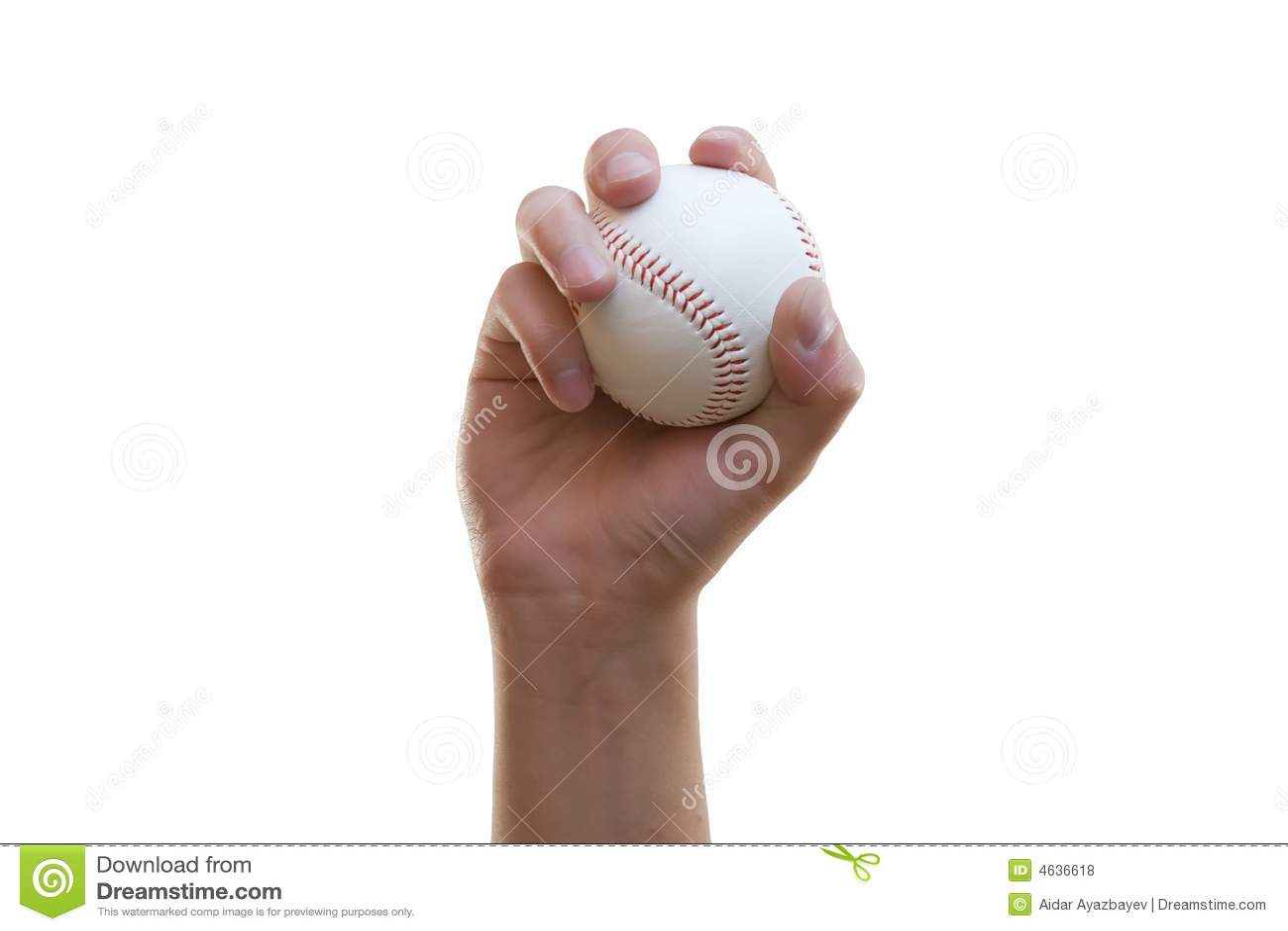 Esfera baixa na mão