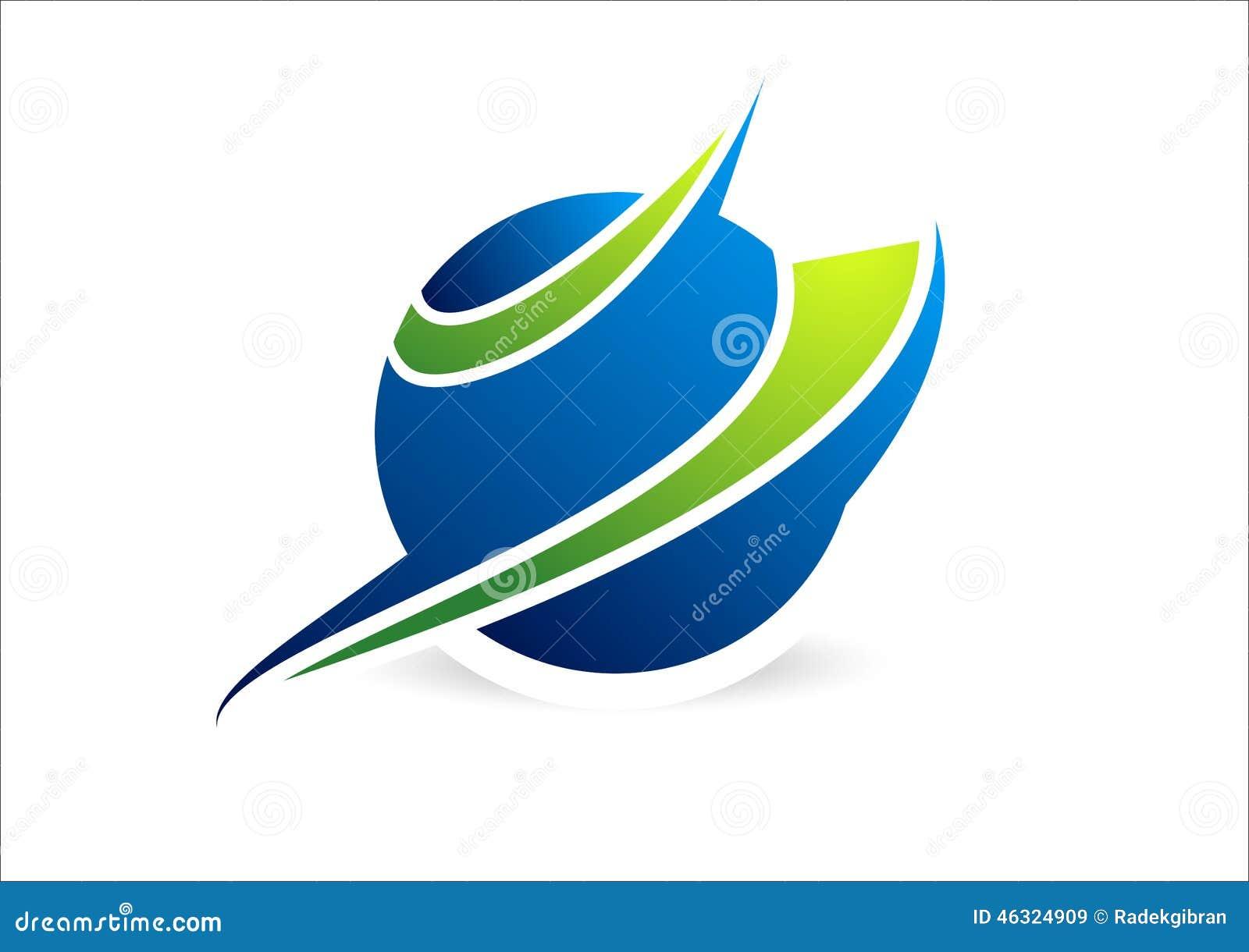 Esfera, círculo, logotipo, global, abstrato, negócio, empresa, corporaçõ, símbolo