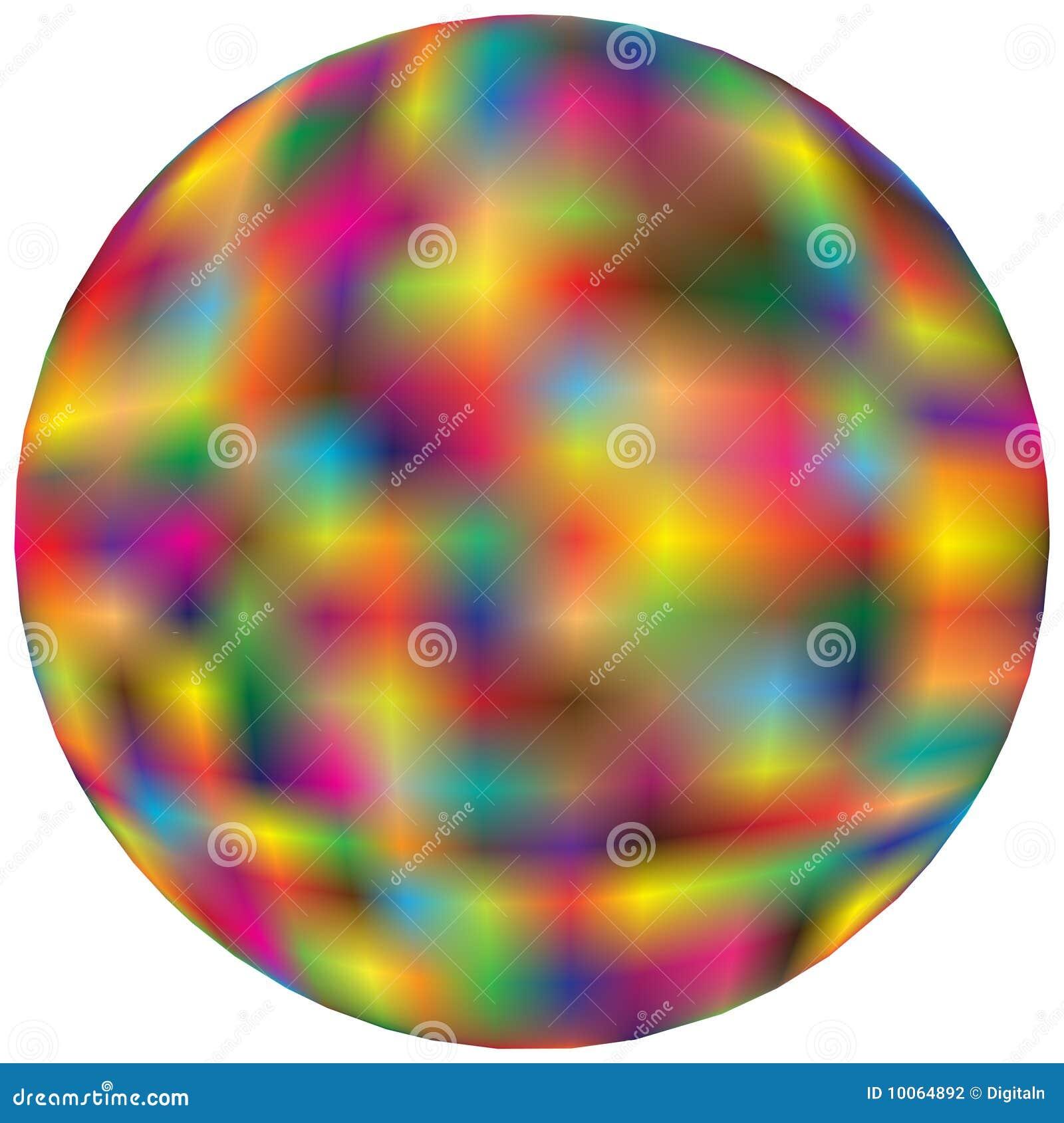 Esfera colorida