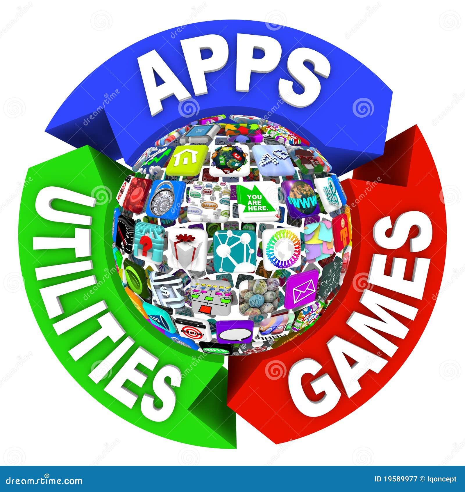 Esfera de Apps no diagrama do fluxograma