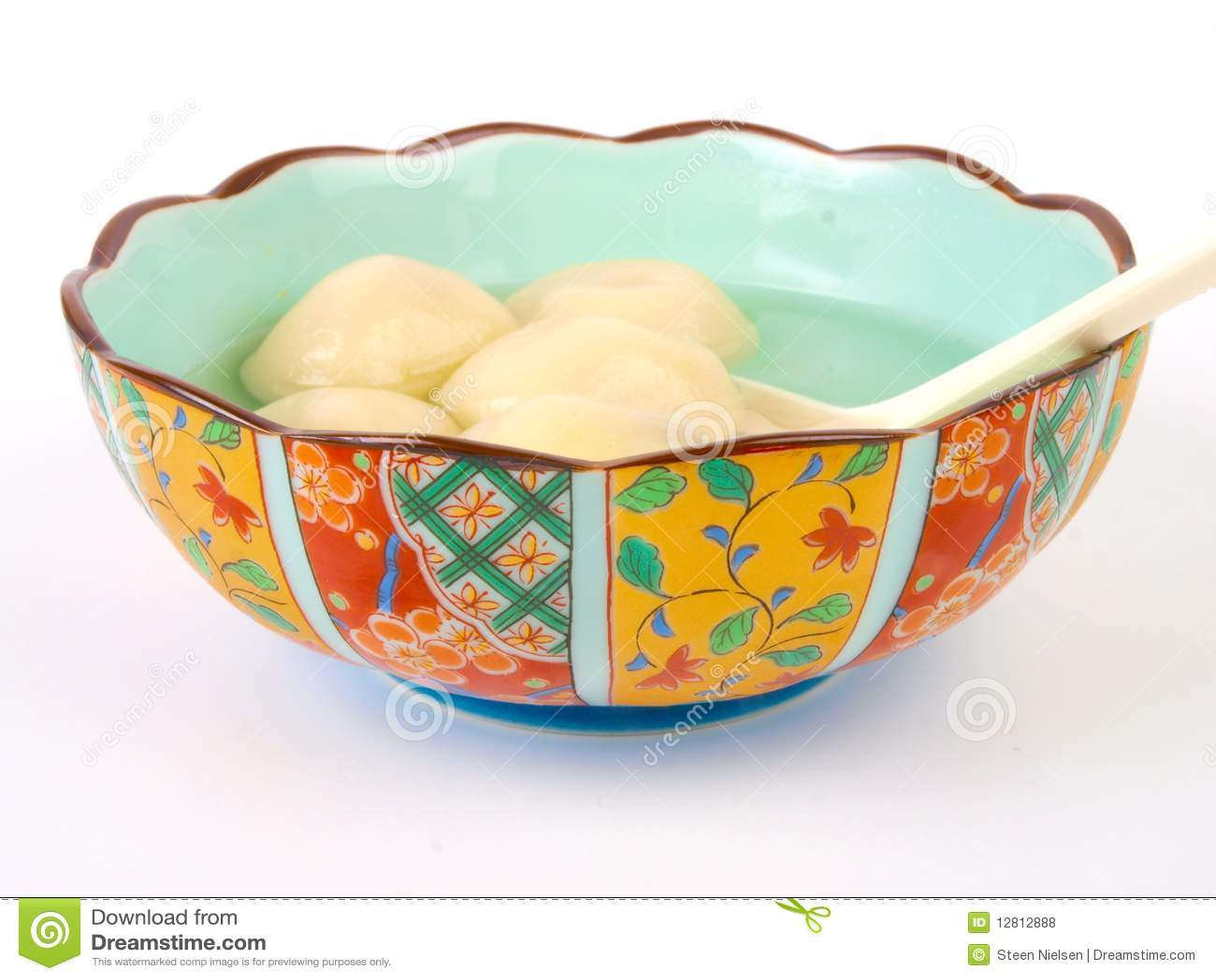 Esfera de arroz chinesa de Glutenous
